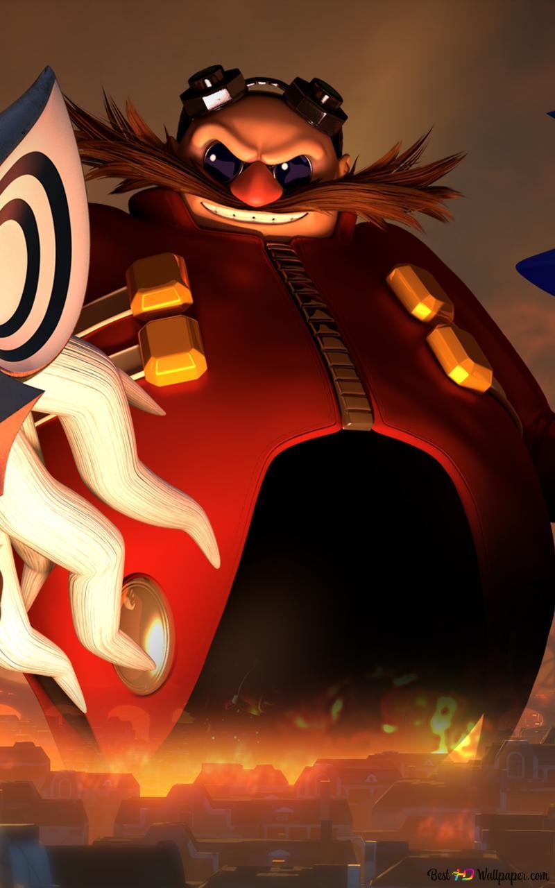 Sonic Forces Doctor Eggman Hd Wallpaper Download