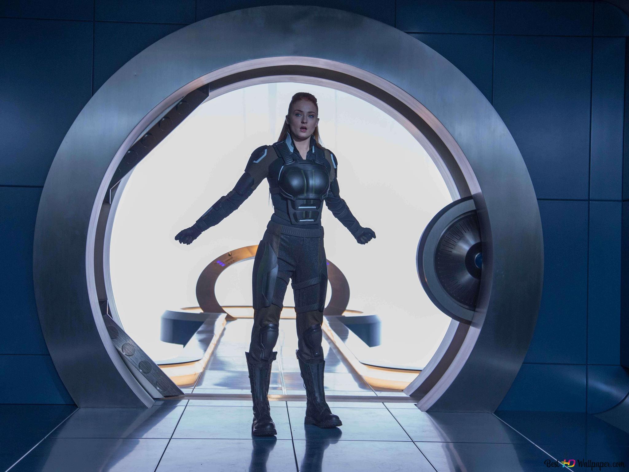 Sophie Turner Jako Jean Grey Z X Men Apocalypse Hd Tapety