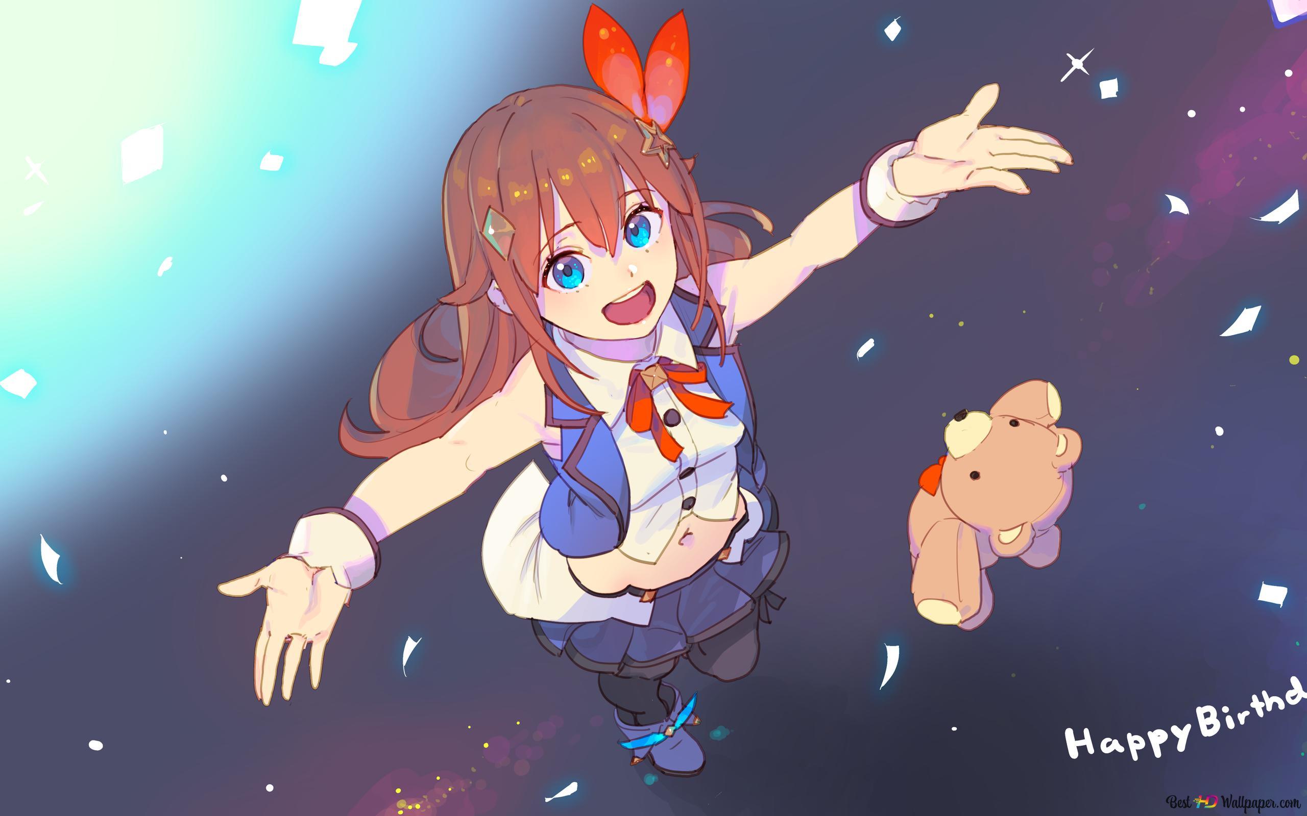 Sora Tokino von Virtual Youtuber HD Hintergrundbilder herunterladen