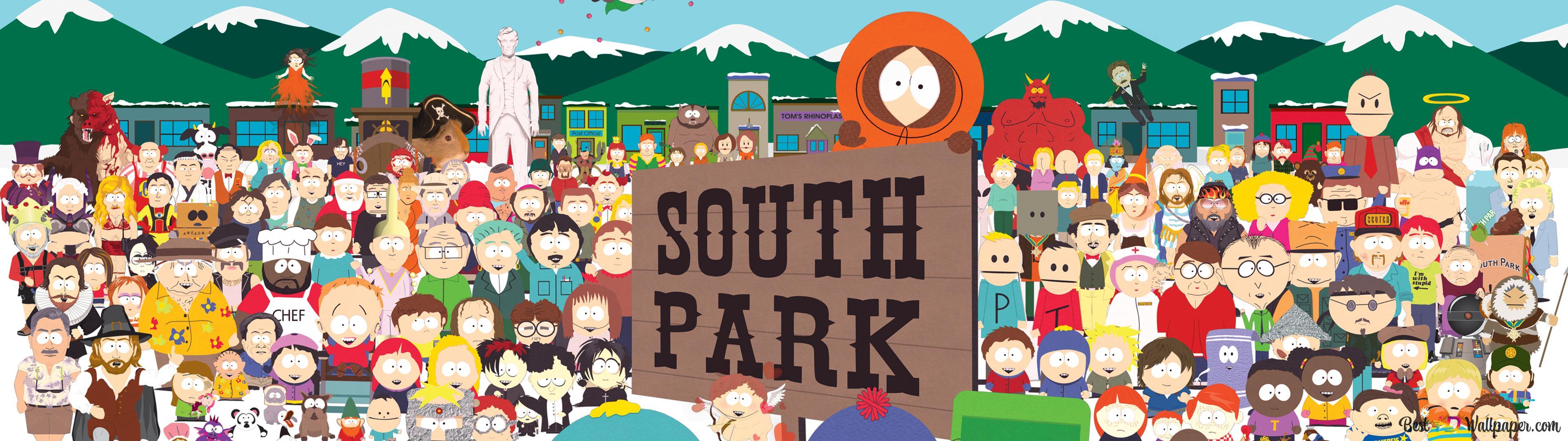 Descargar Fondo De Pantalla South Park Estadounidense