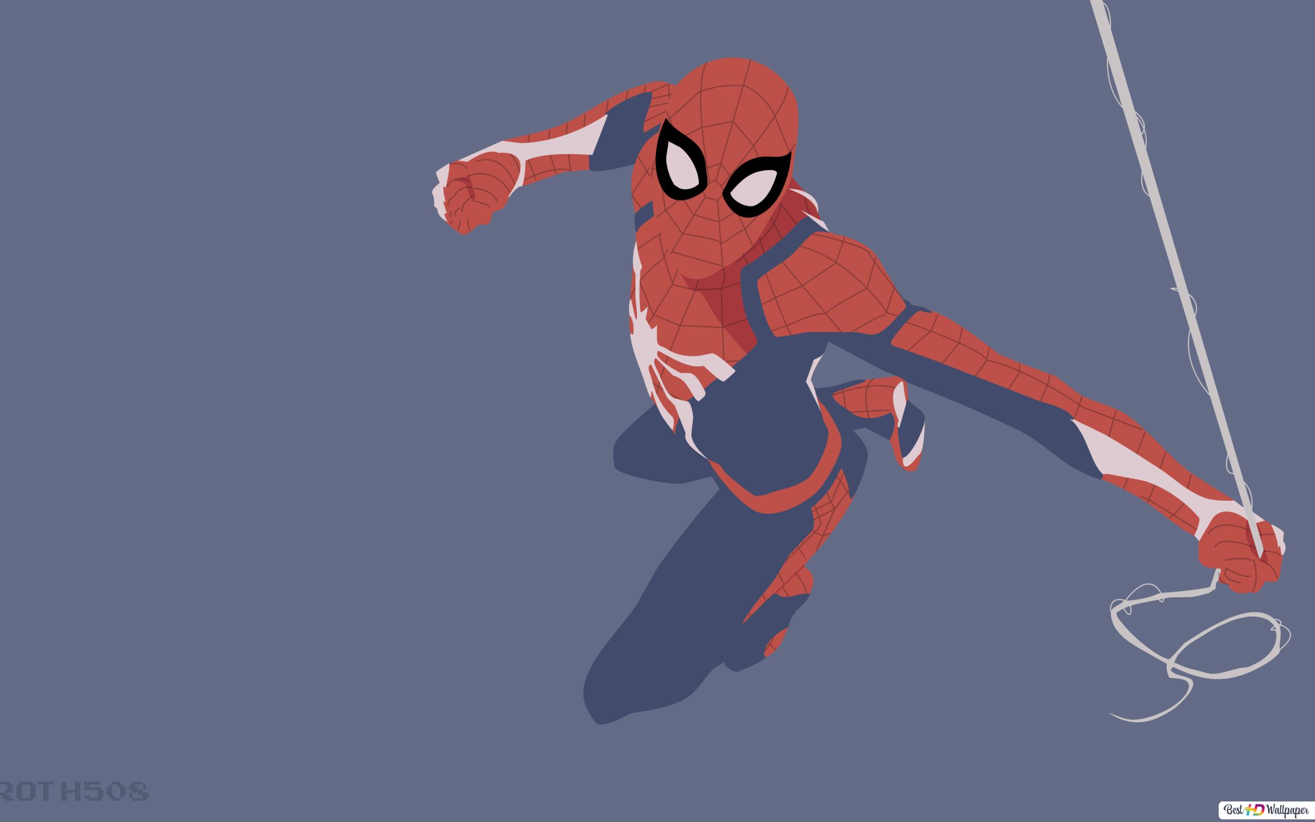 Spider Man Cartoon Hd Wallpaper Download