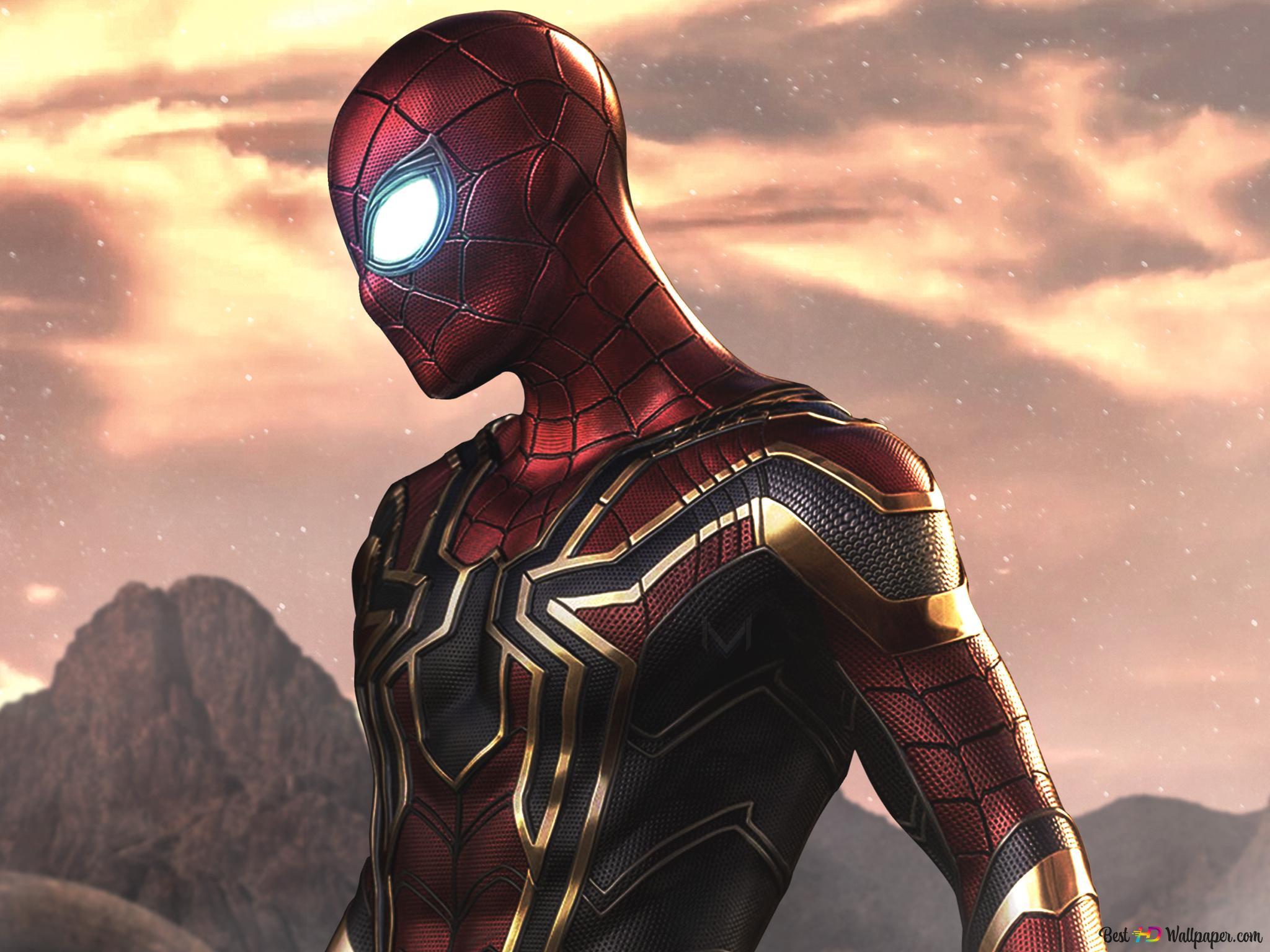 Spider Man Far From Home 2019 Film Eisen Spinne Hd