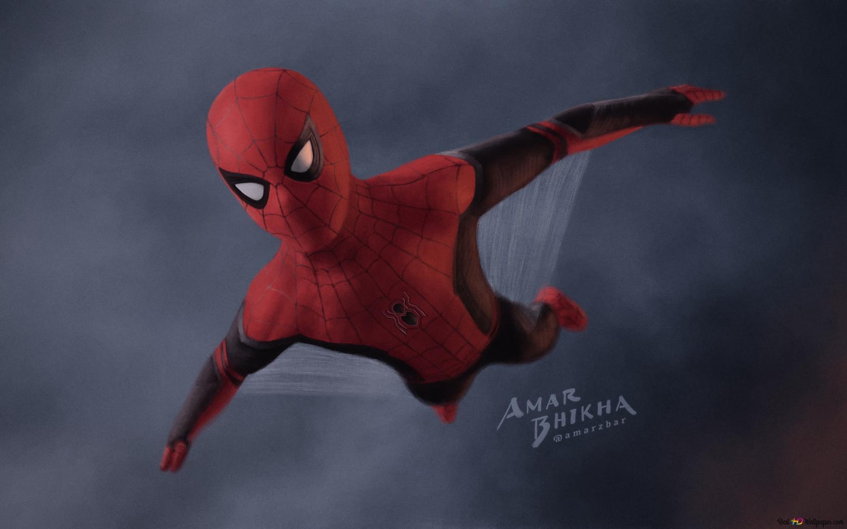 Spider Man Far From Home 2019 Hd Hintergrundbilder