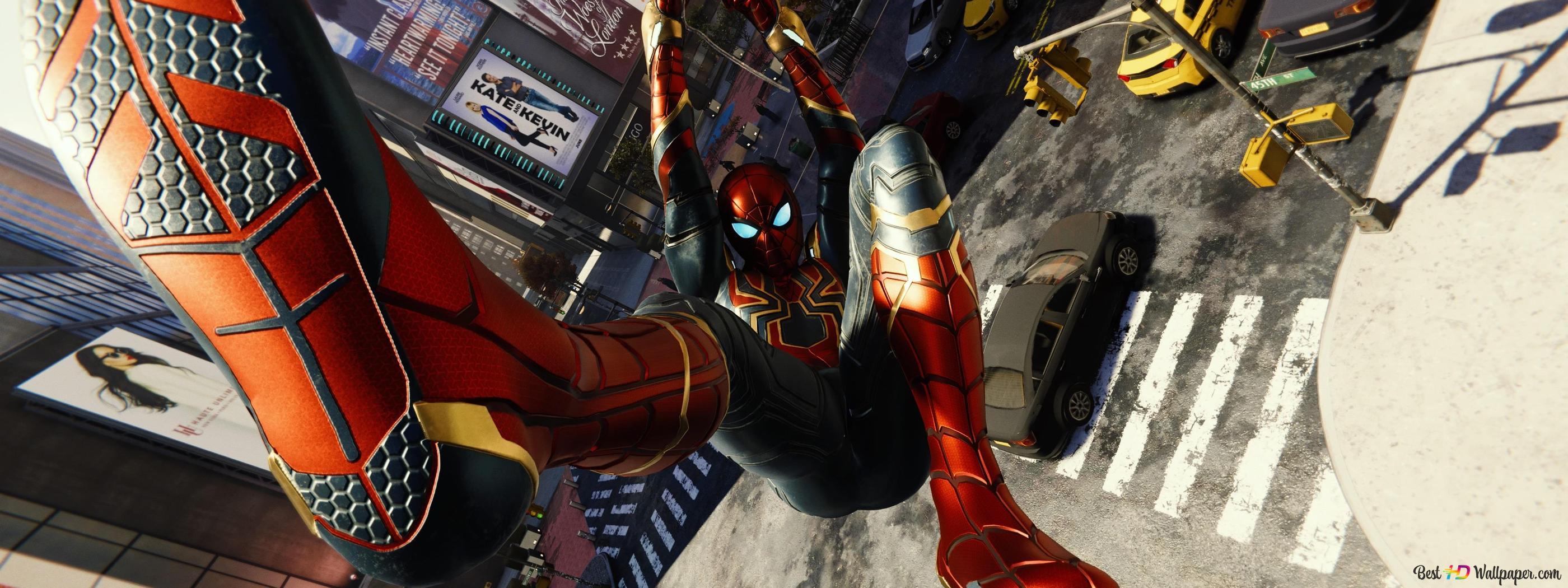 Spider-Man game (2019) - Spiderman Iron Suit HD wallpaper