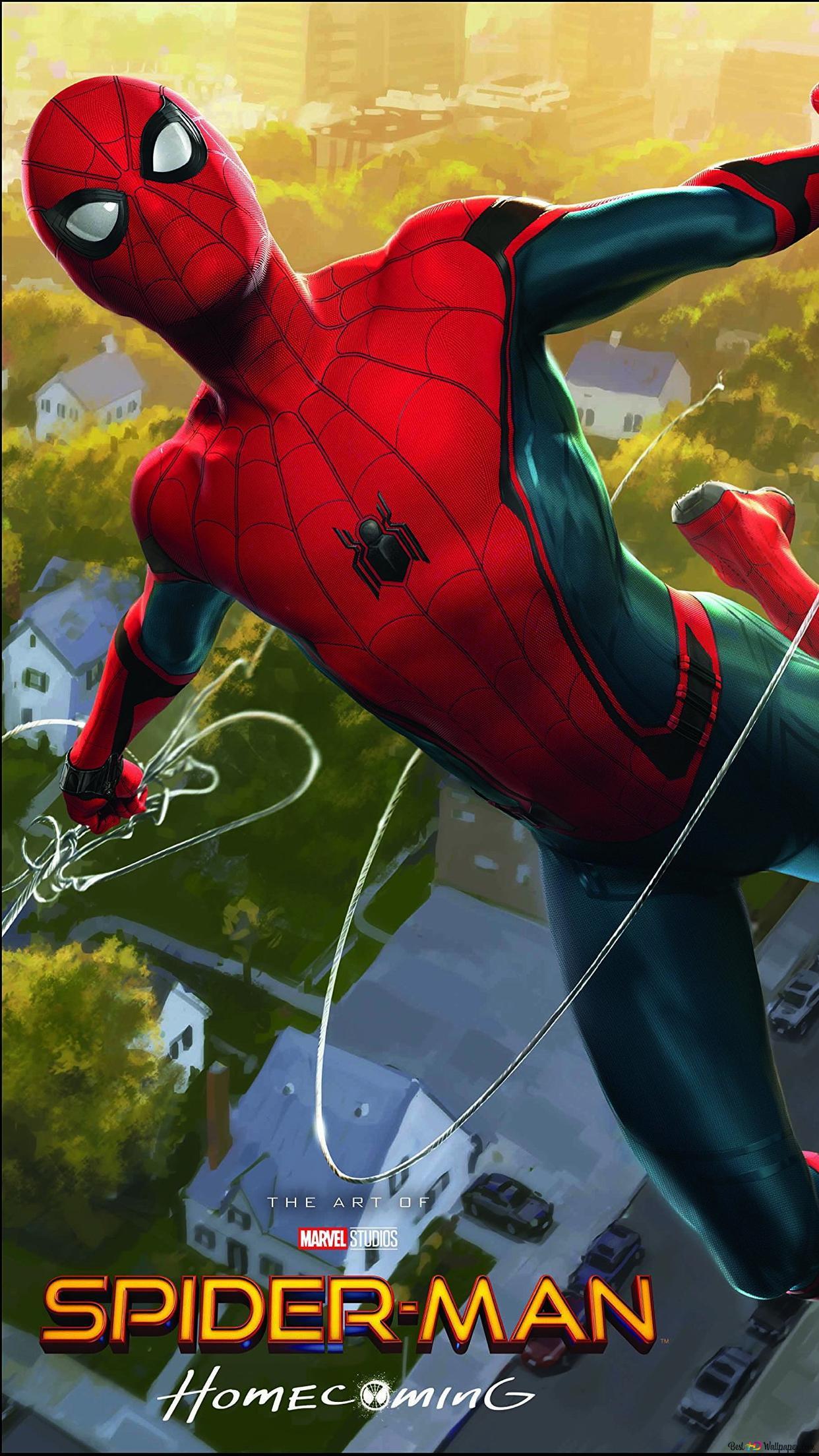 Spider Man Heimkehr Film Spiderman In Aktion Mit Dem