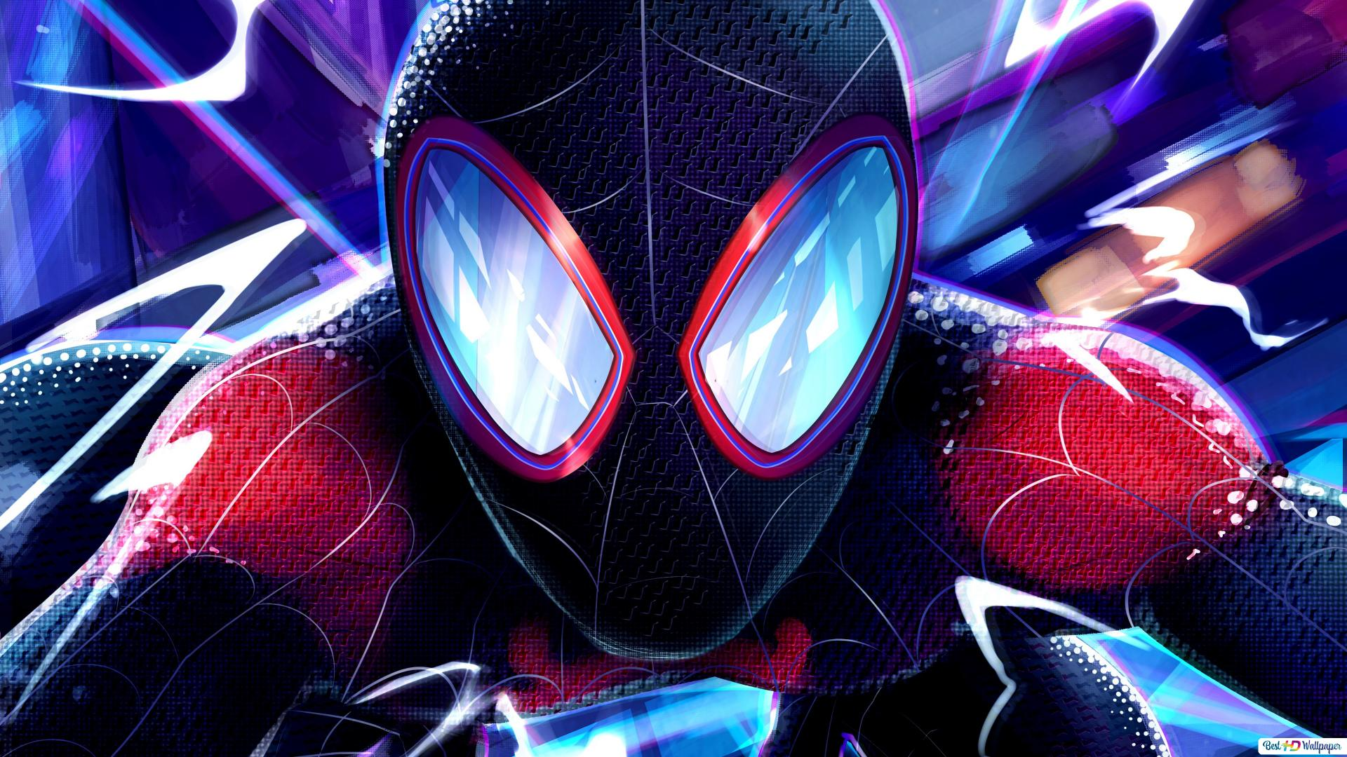 Spider Man Into The Spider Verse Miles Morales Fanart Hd Wallpaper Download