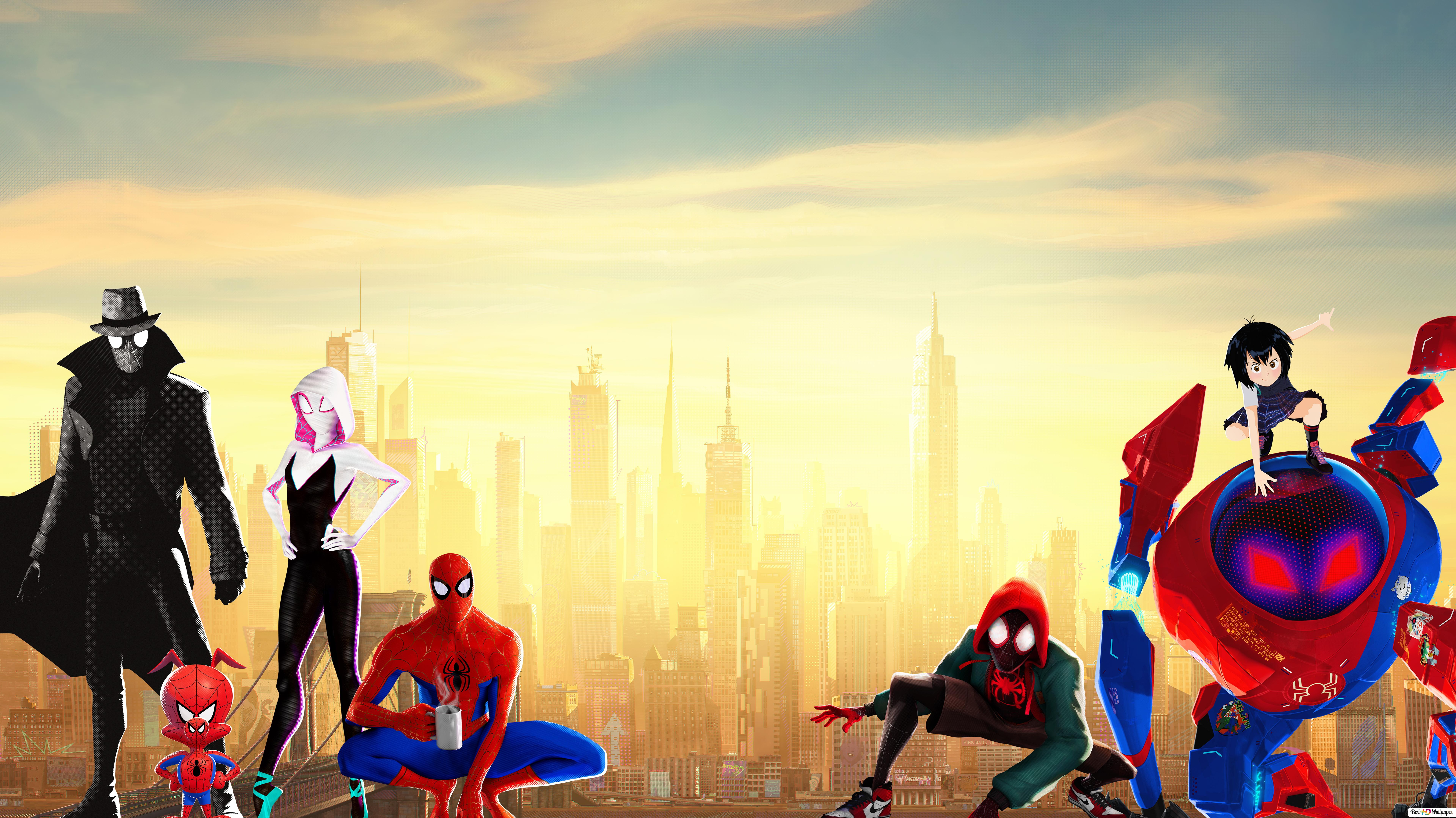 Spider-Man: Into the Spider-Verse movie - Marvel heroes HD ...