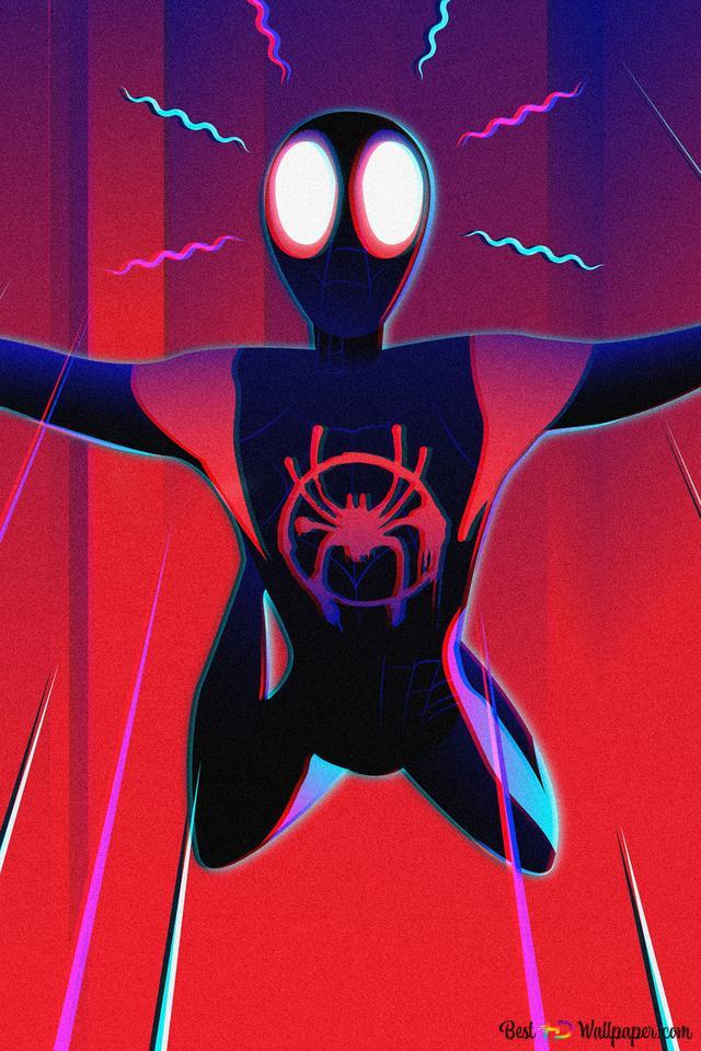 Spider Man Into The Spider Verse Movie Spiderman Noir Art Hd