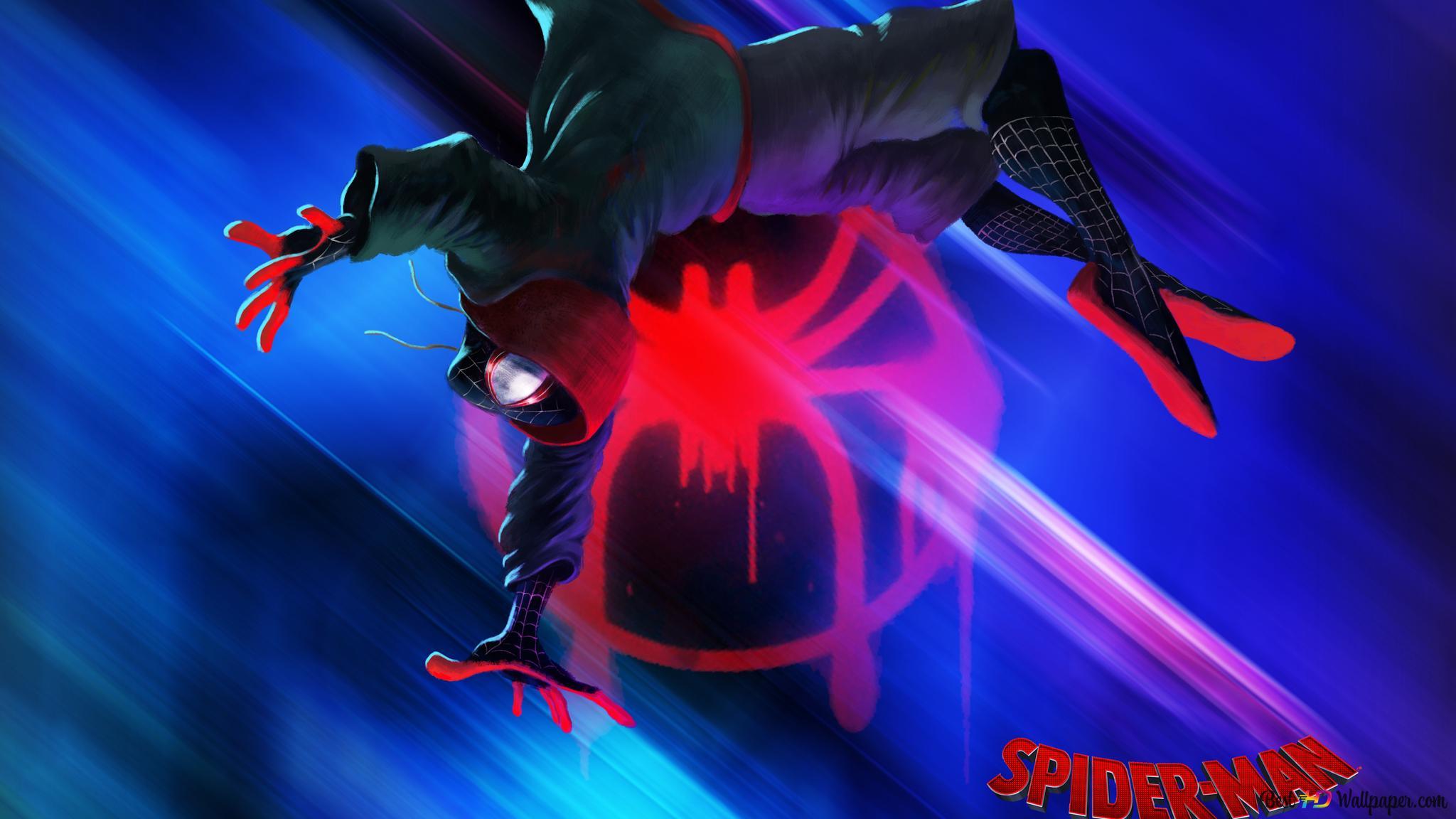 Spider Man Into The Spider Verse Movie Spiderman Noir In
