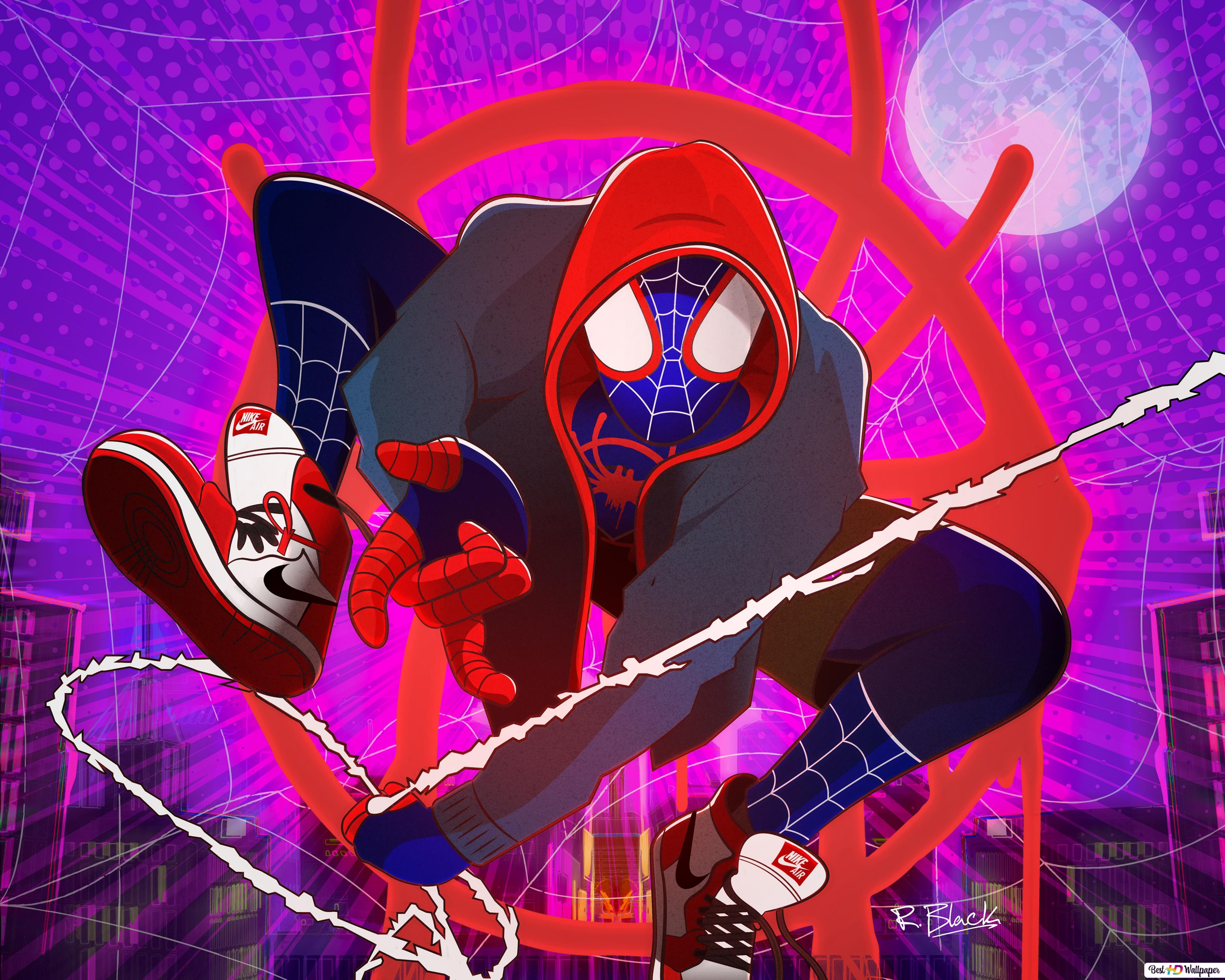 Spider Man Into The Spider Verse Wallpaper Iphone Xs Max