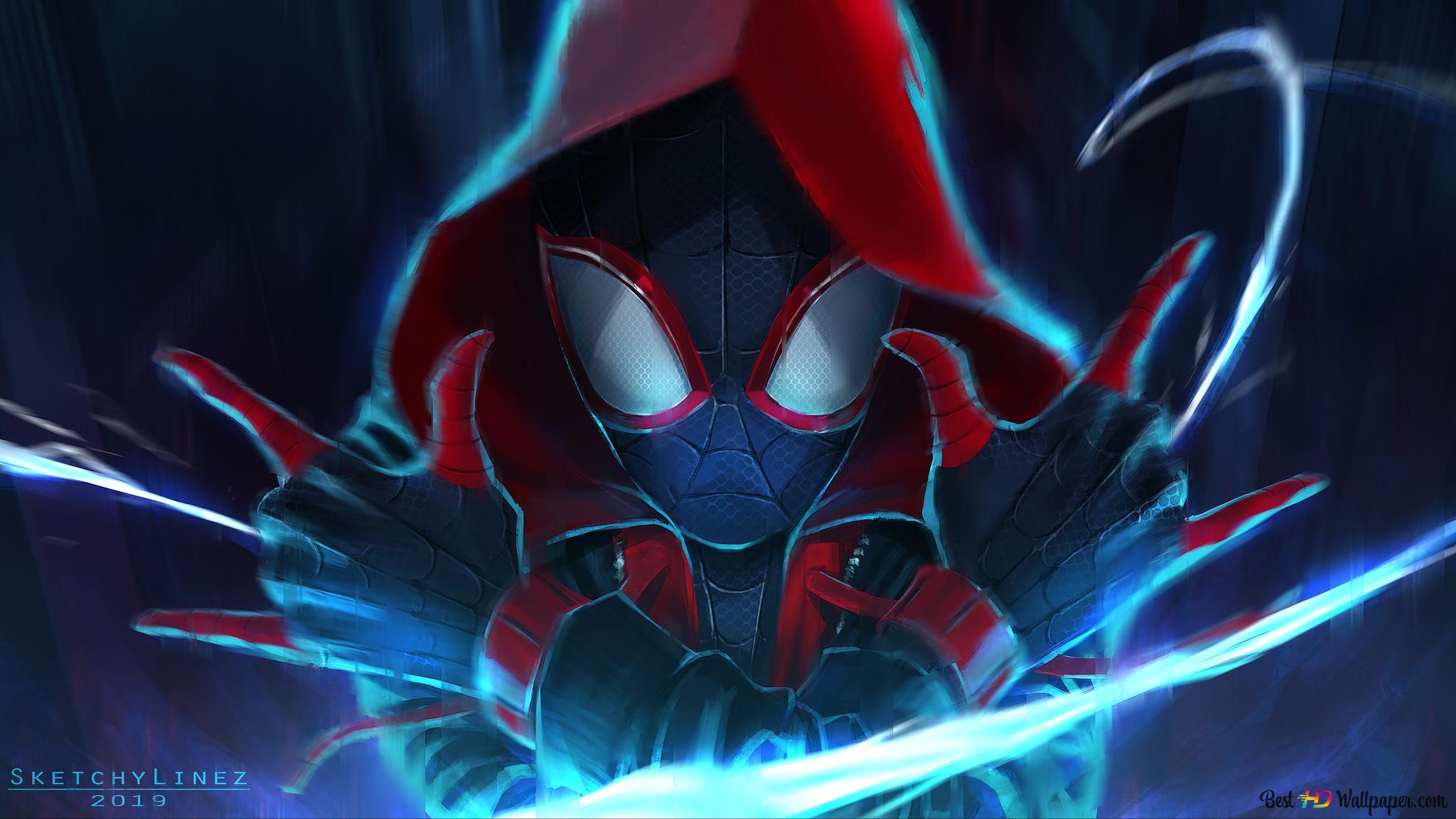 Spider Man Into The Spider Verse Movie Spiderman Noir Hd