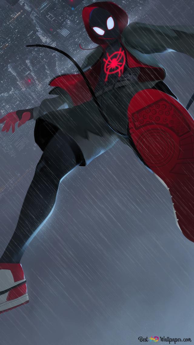 Spider Man Into The Spider Verse Wallpaper