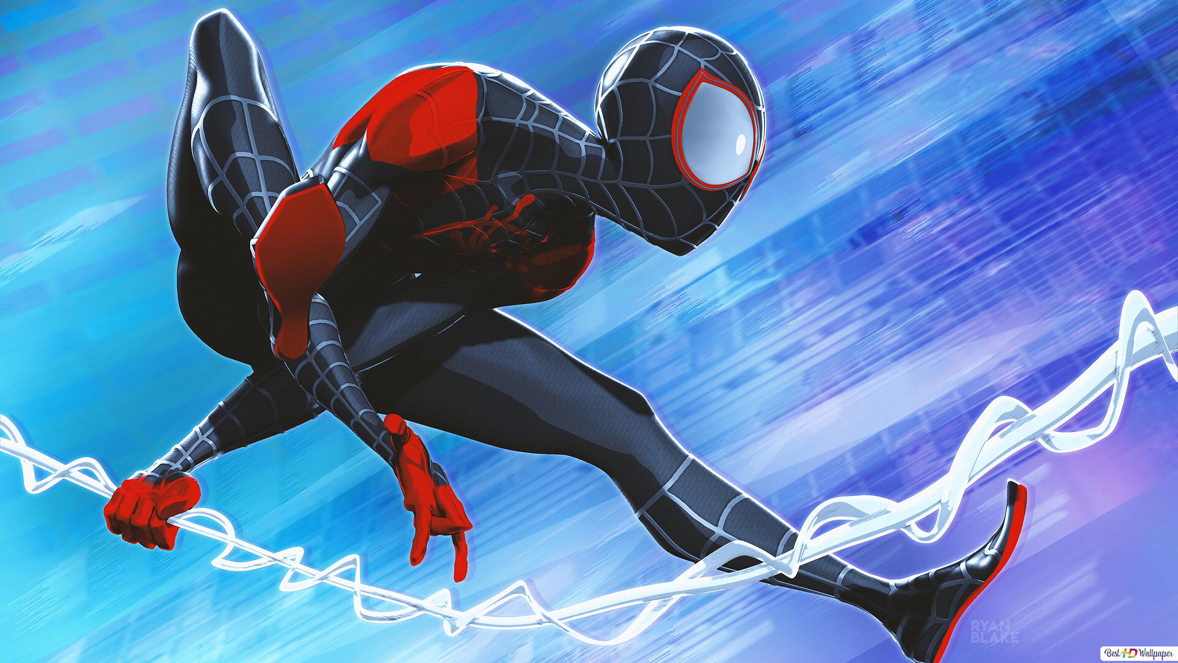 Spider Man Miles Morales Hd Wallpaper Download