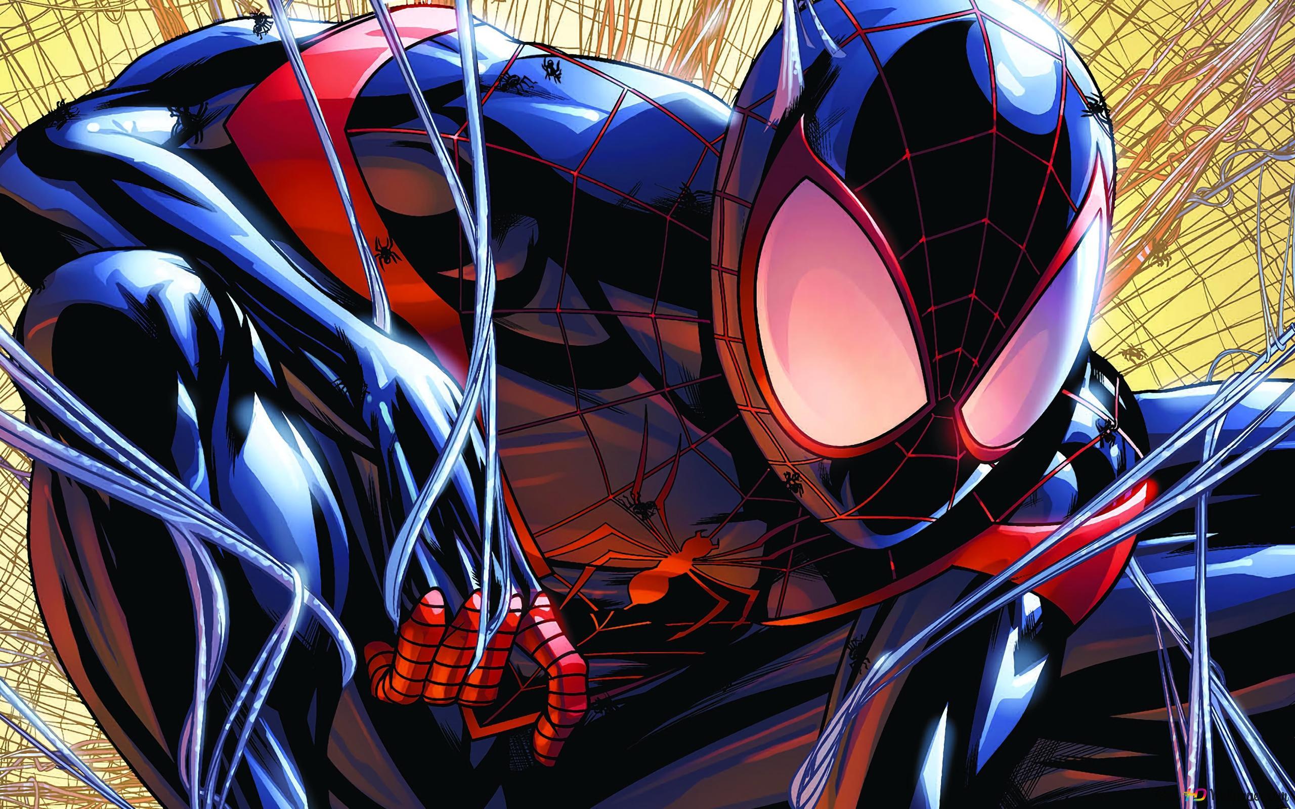 Spiderman Miles Morales Hd Wallpaper Download