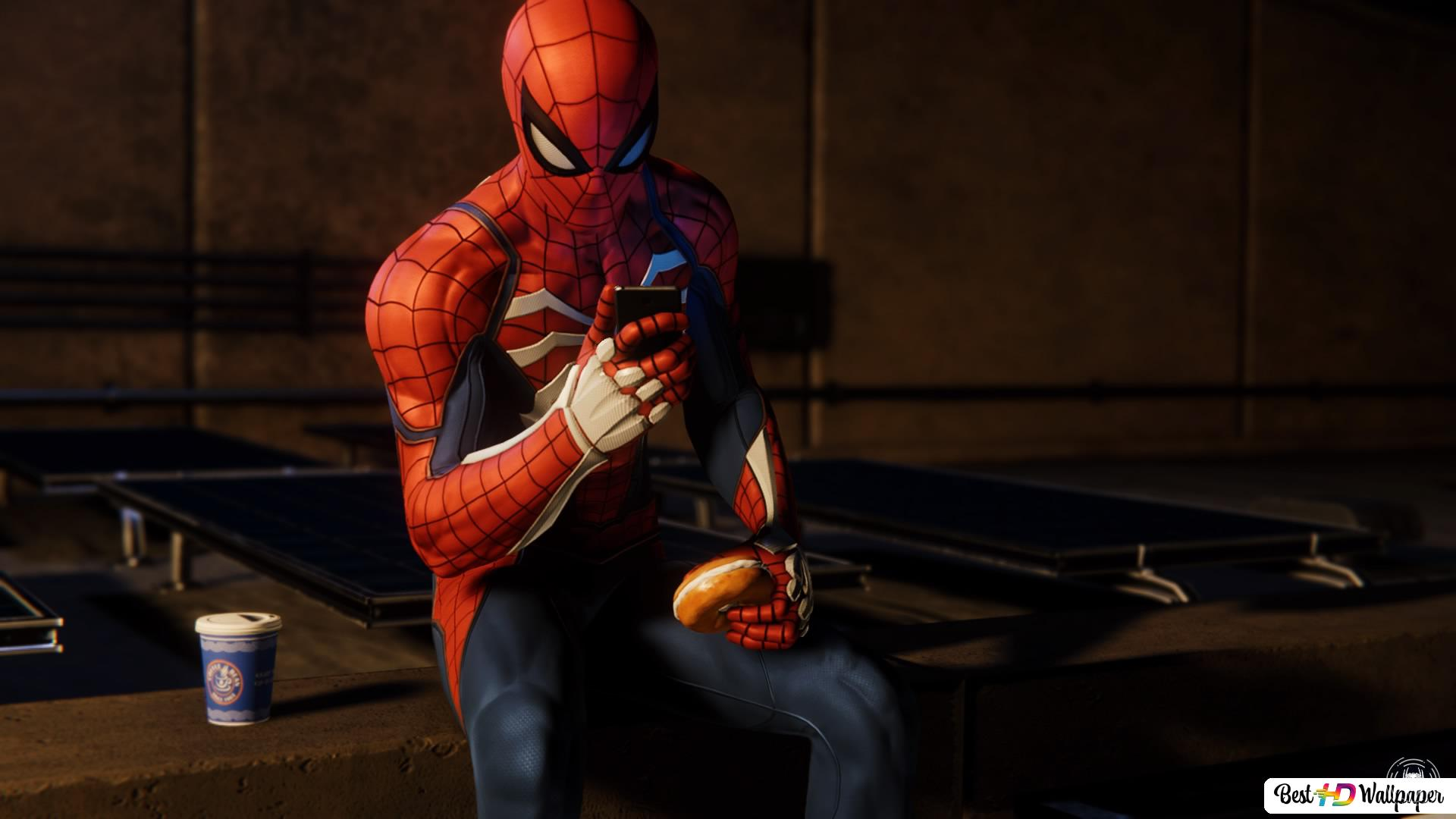Spiderman Ps4 Hd Wallpaper Download
