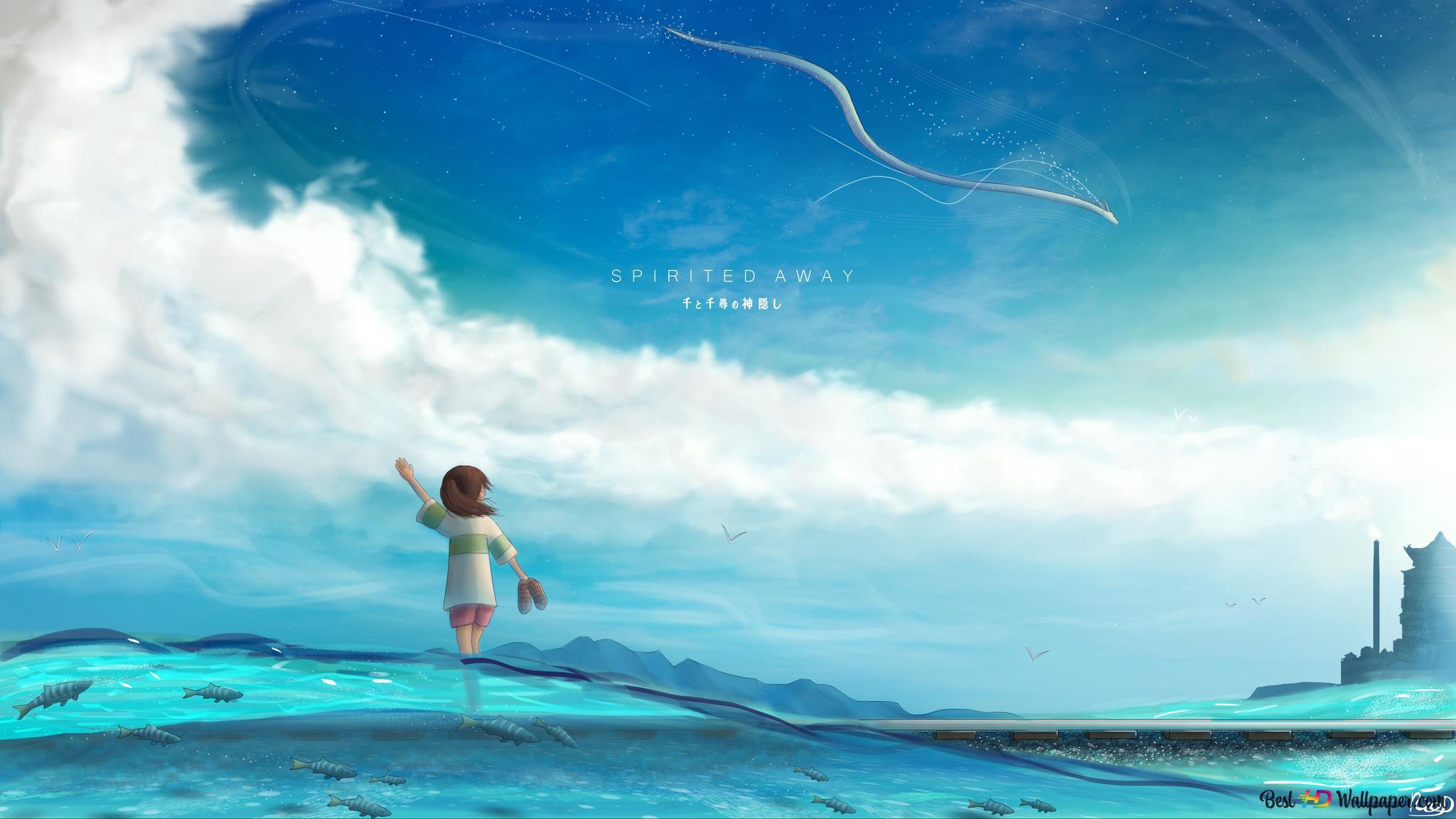 Spirited Away Chihiro Ogino Unduhan Wallpaper Hd