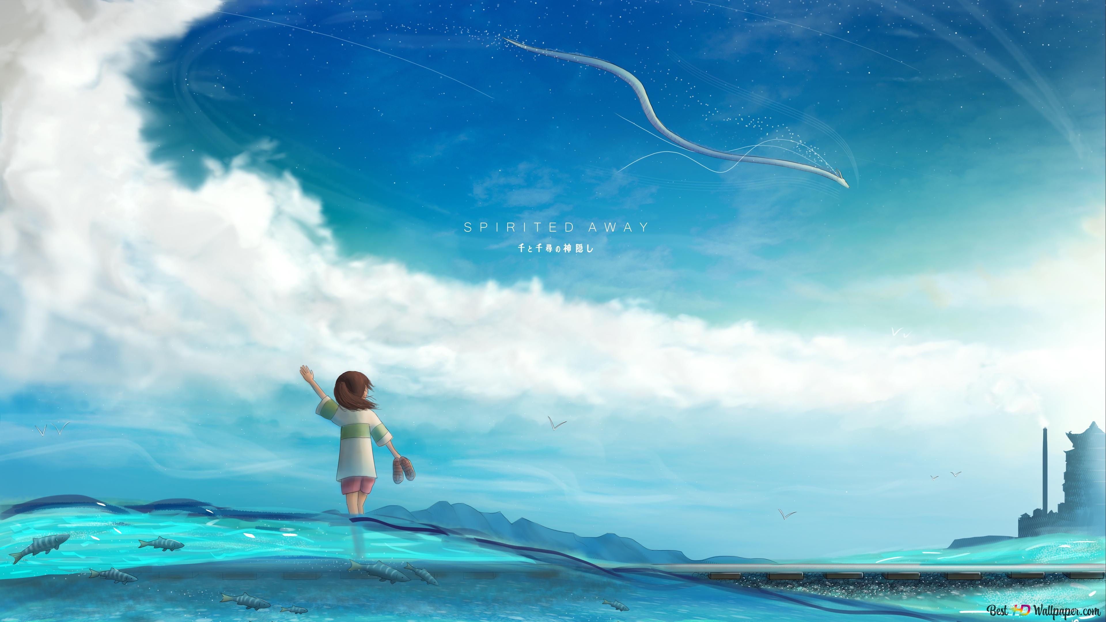 Spirited Away Chihiro Ogino Hd Wallpaper Download