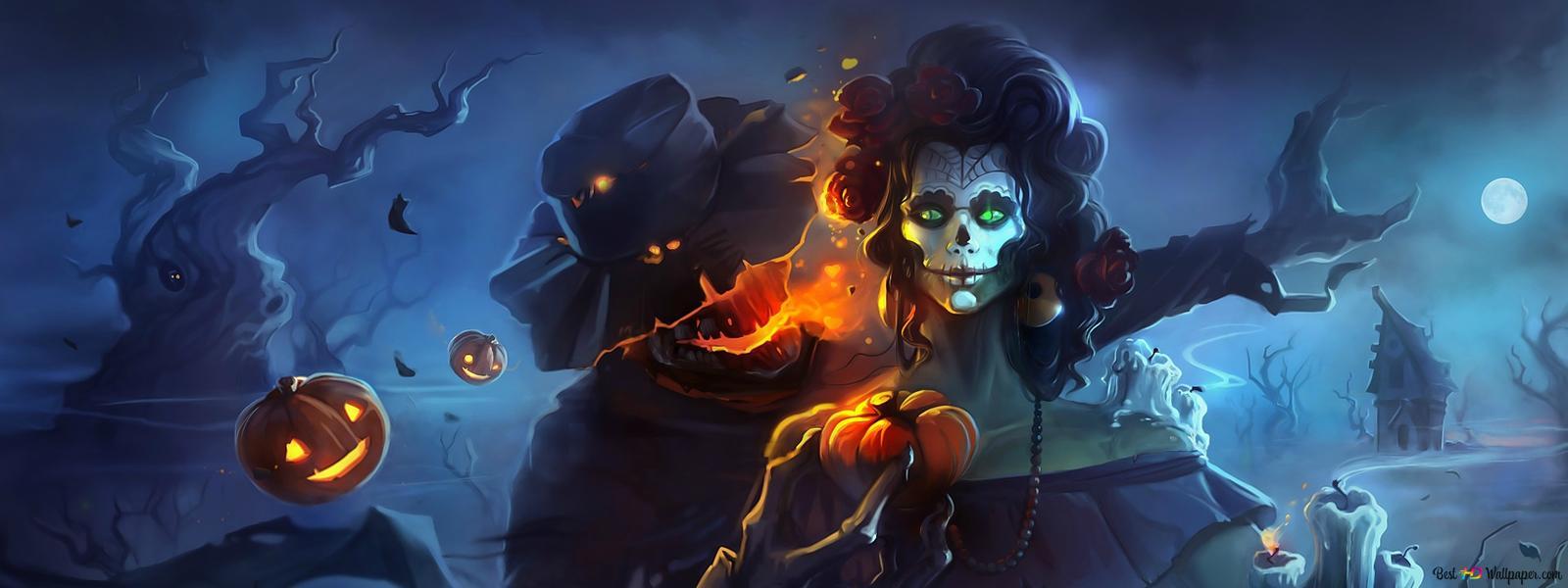 Spooky Halloween Hd Wallpaper Download