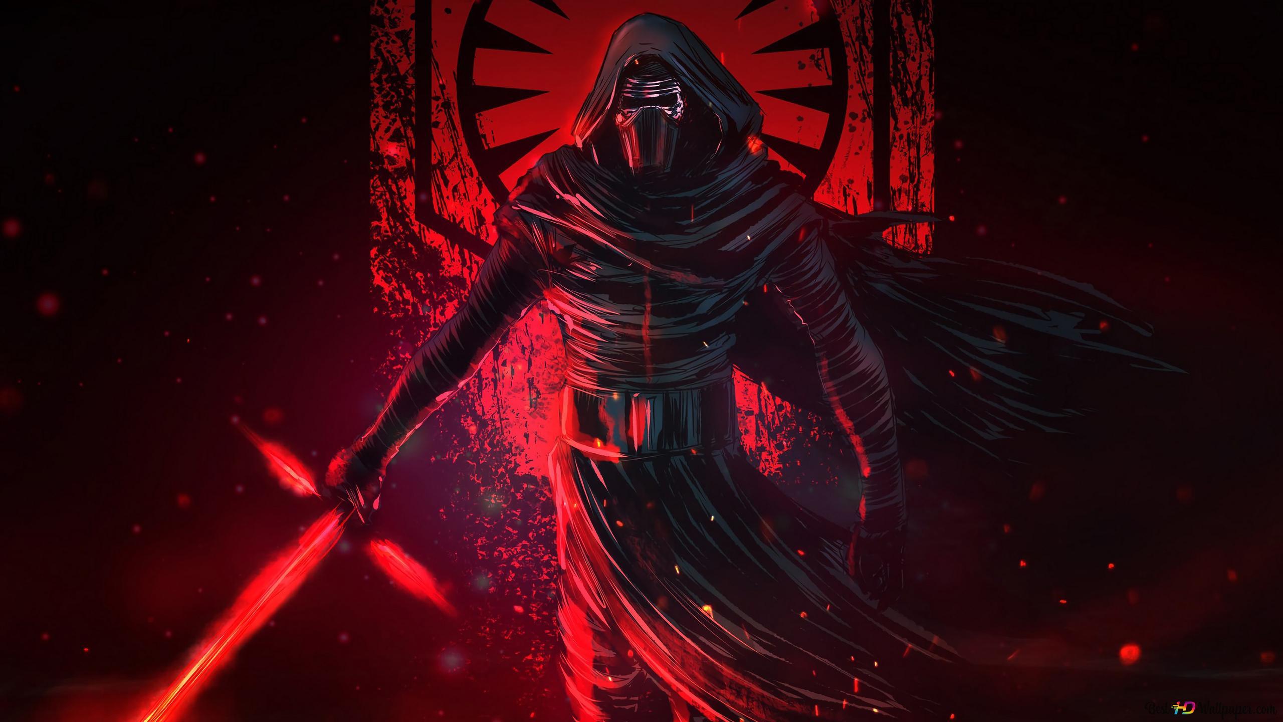 Star Wars 9 Kylo Ren Unduhan Wallpaper Hd