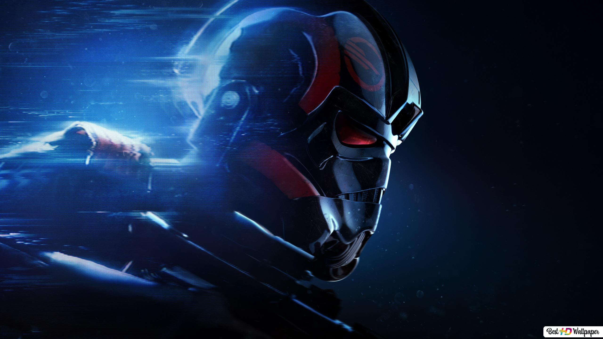 Star Wars Battlefront 2 Game Black Trooper Hd Wallpaper Download