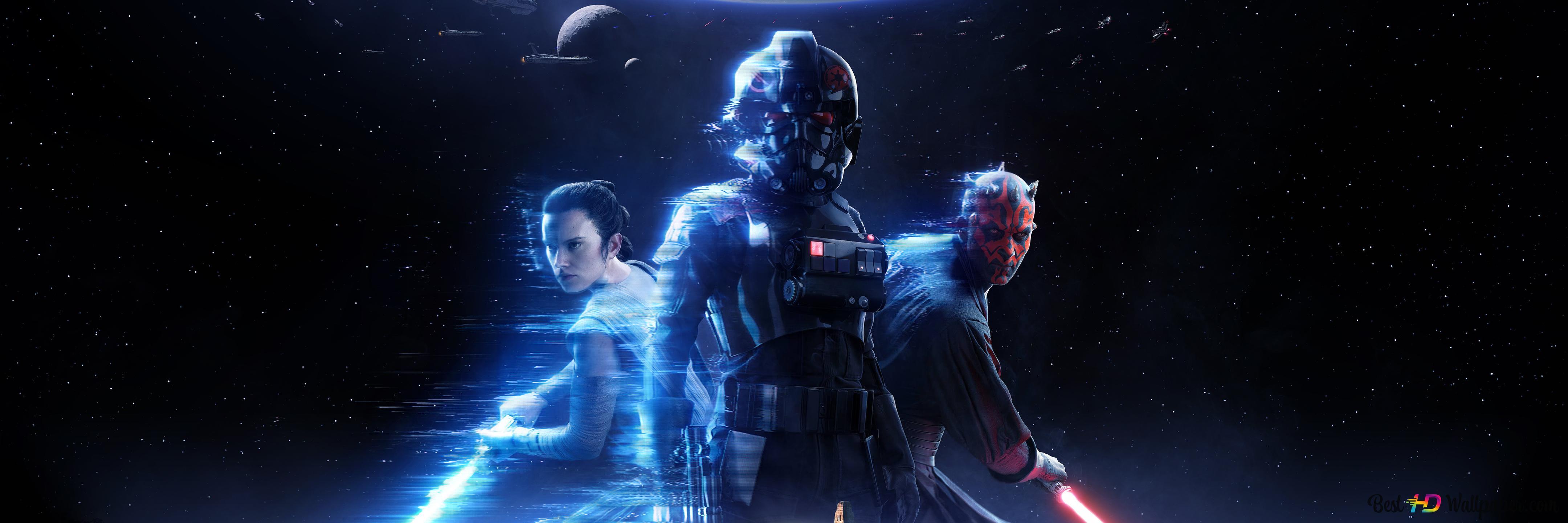 Star Wars Battlefront 2 Game Poster Hd Wallpaper Download
