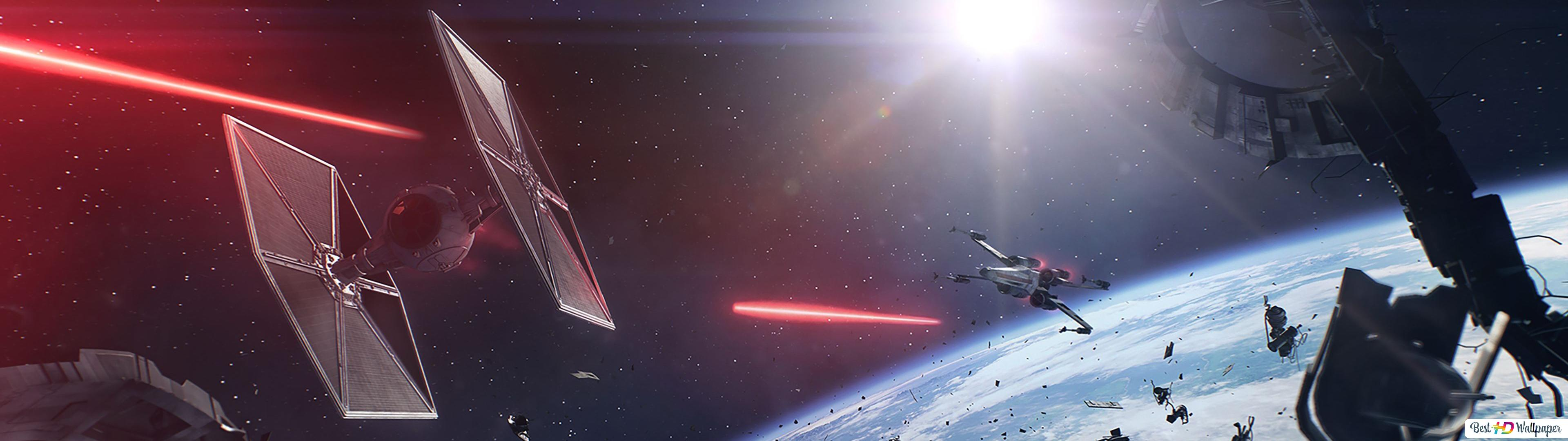 Star Wars Battlefront 2 Game Starship In Space Hd Wallpaper Download