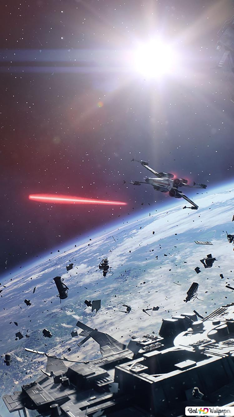 star wars battlefront 2 game starship in space wallpaper 750x1334 16117 164