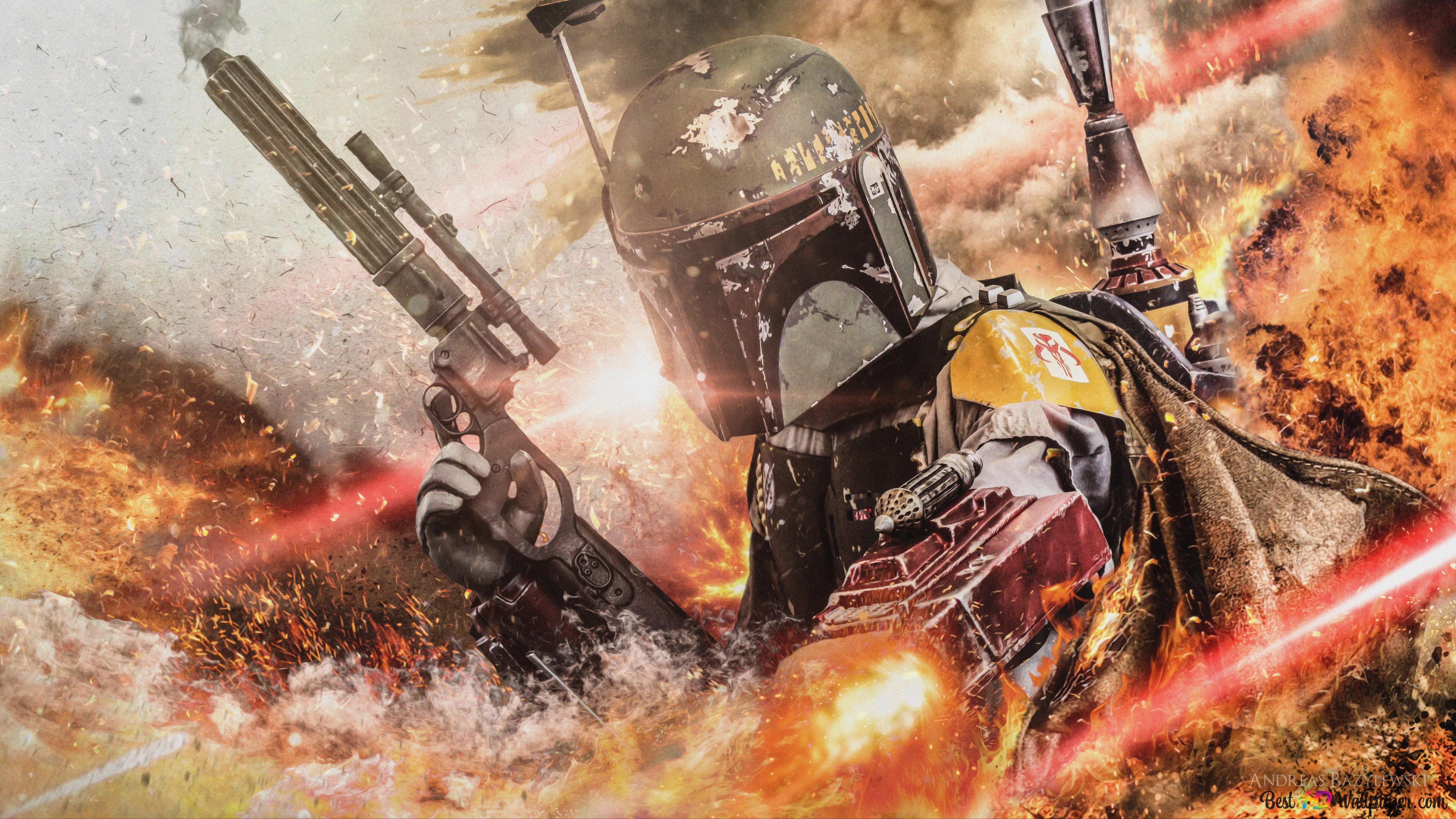 Star Wars Bounty Hunter Hd Wallpaper Download