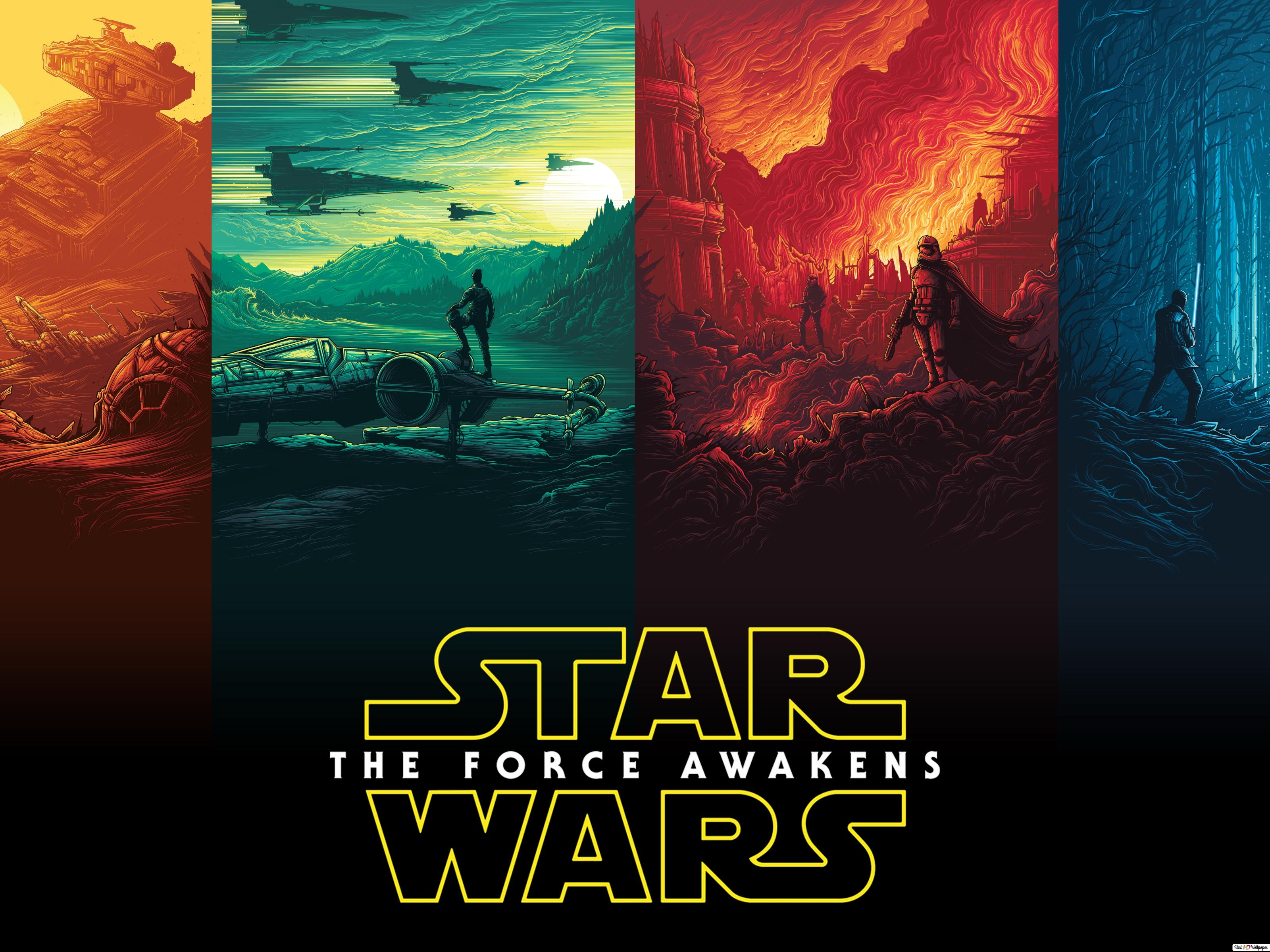 Star Wars Episode Vii The Force Awakens 2015 Hd Wallpaper Download