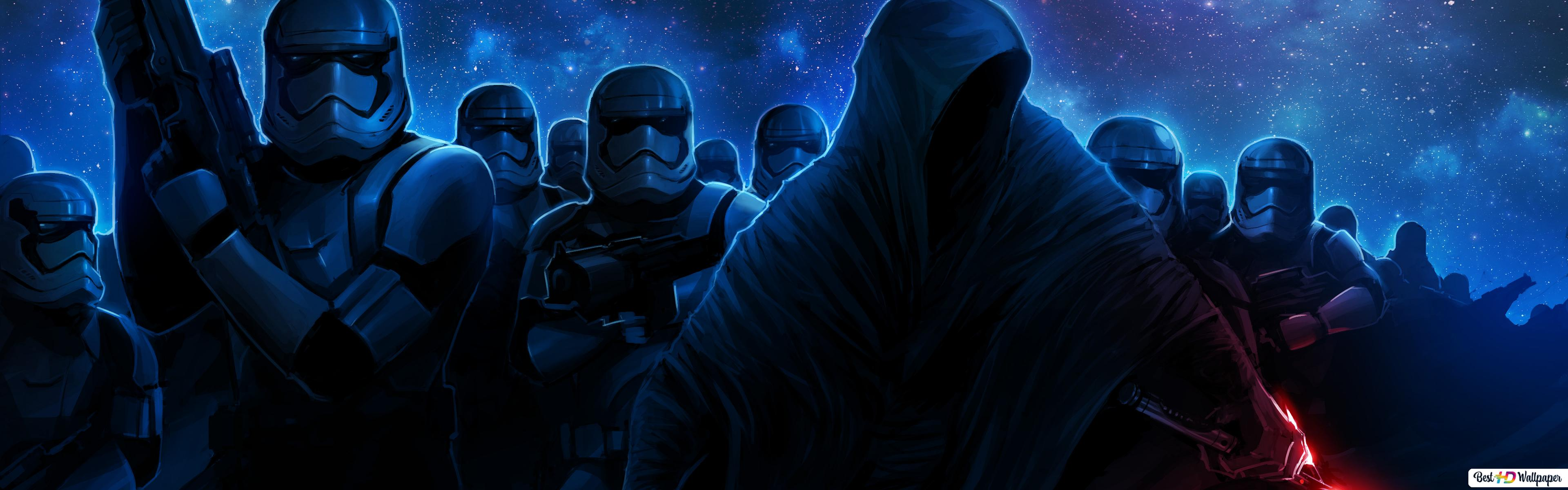 Star Wars Episode Vii The Force Awakens Stormtrooper Hd