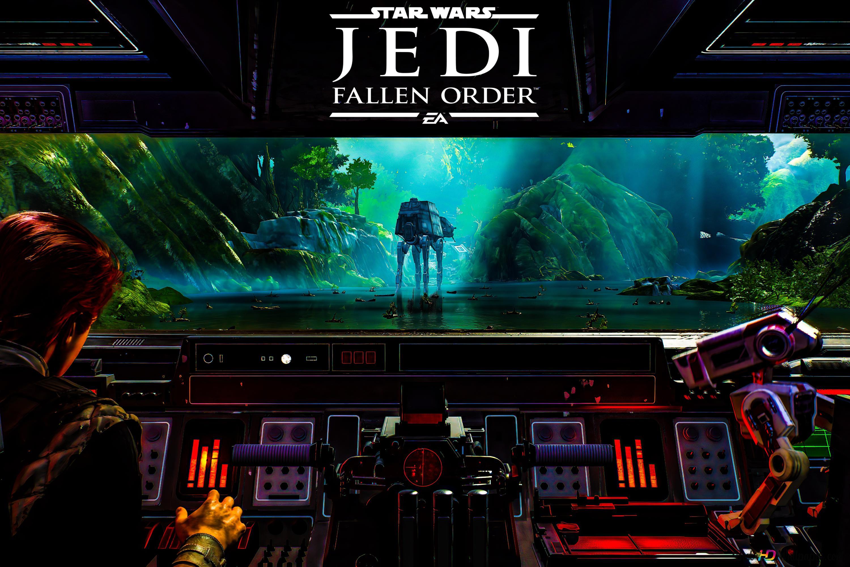 Star Wars Jedi Jatuh Orde 04 8k 4k Kertas Dinding Unduhan Wallpaper Hd