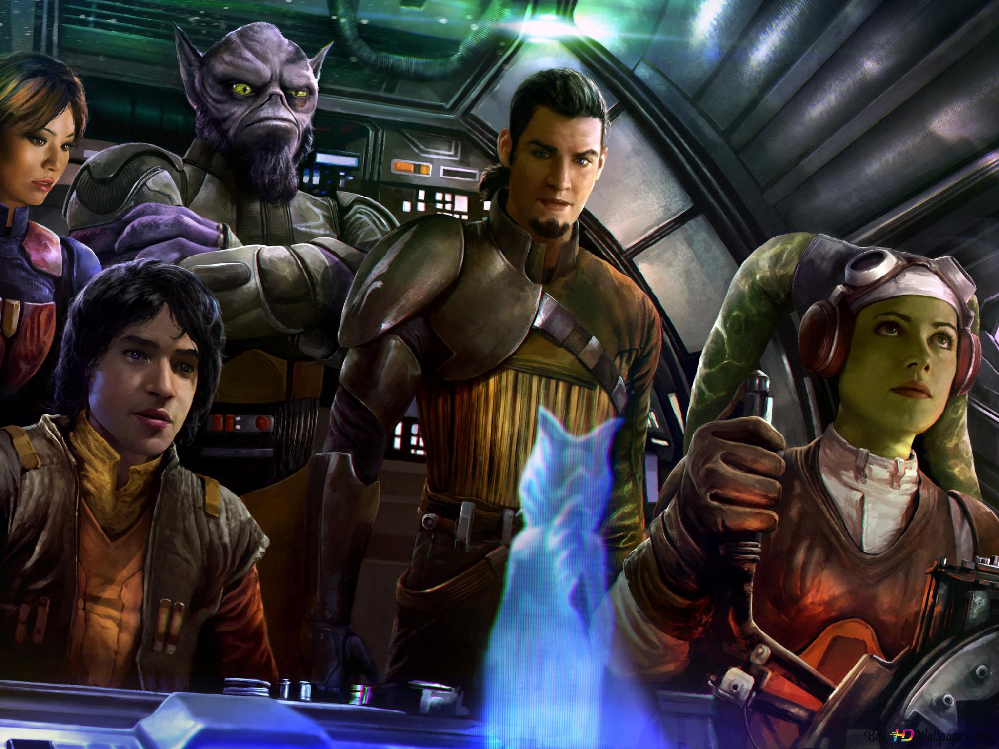 Star Wars Rebels Series Hd Wallpaper Download