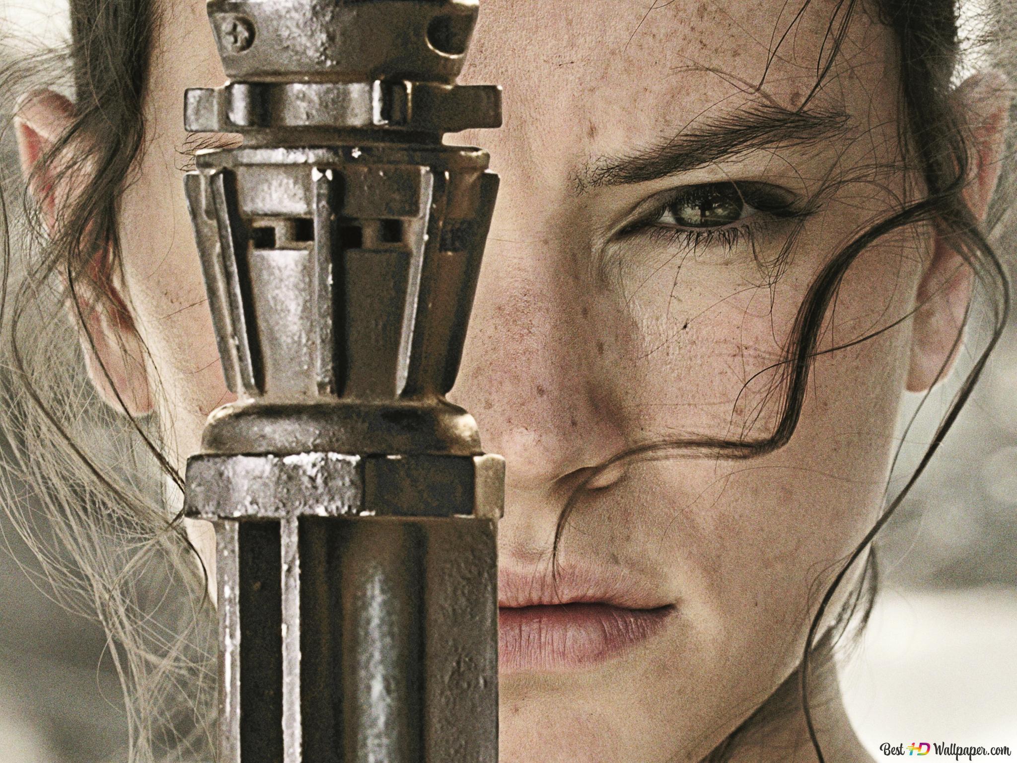Star Wars Rey Hd Wallpaper Download