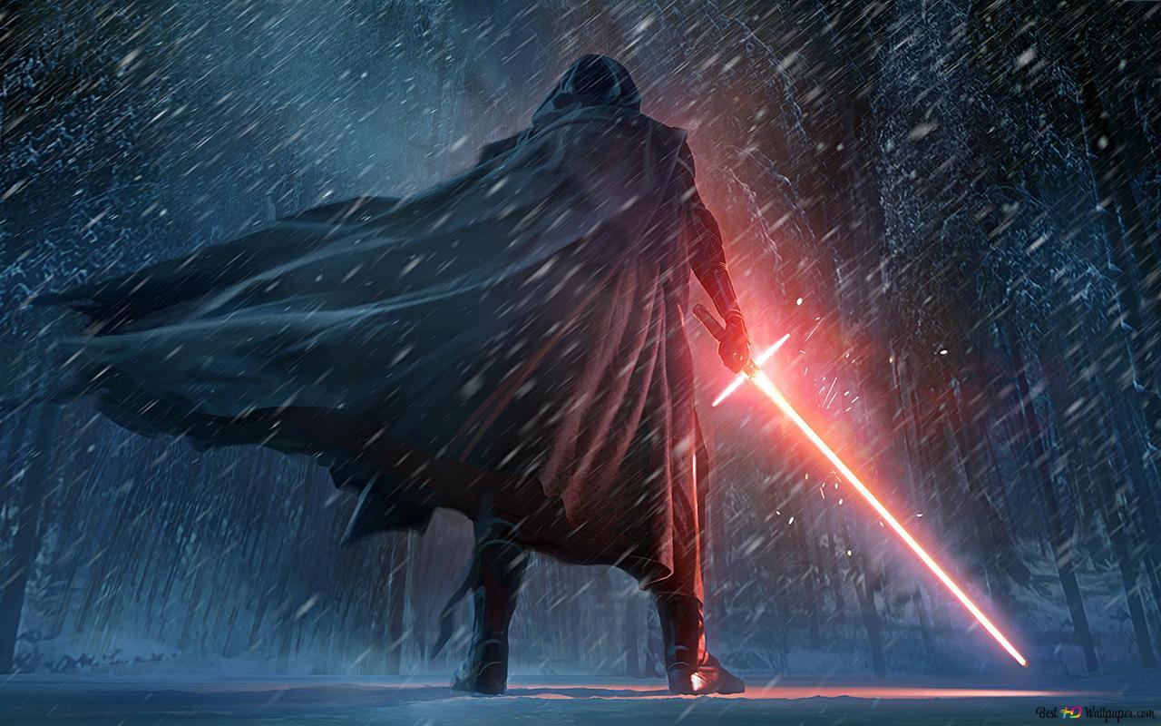 Star Wars The Force Awakens Movie Kylo Ren Hd Wallpaper Download