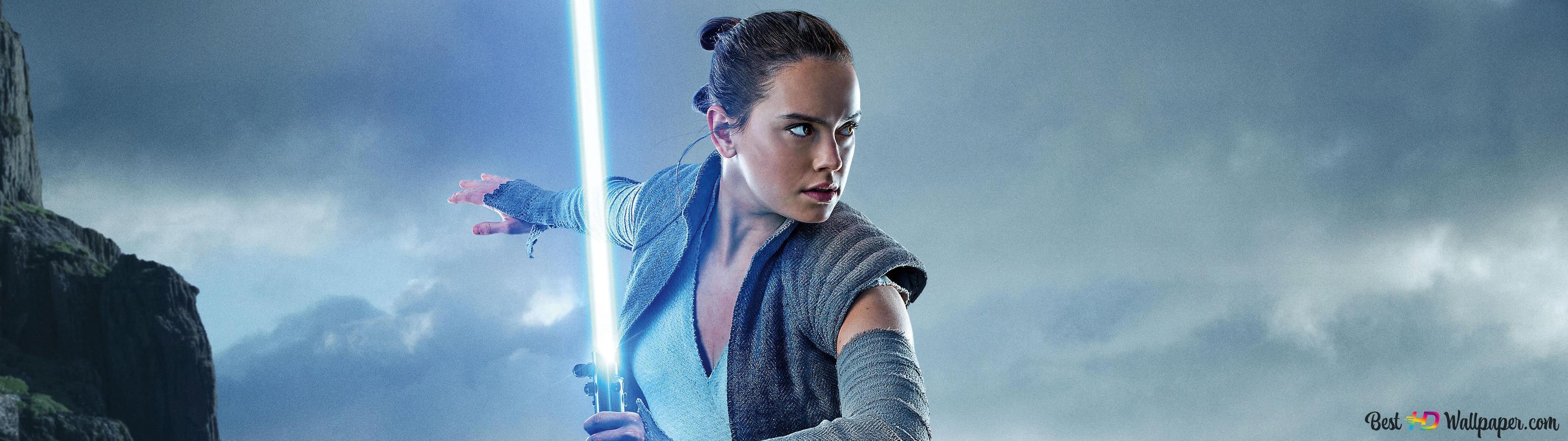 Star Wars The Last Jedi Daisy Ridley Hd Wallpaper Download