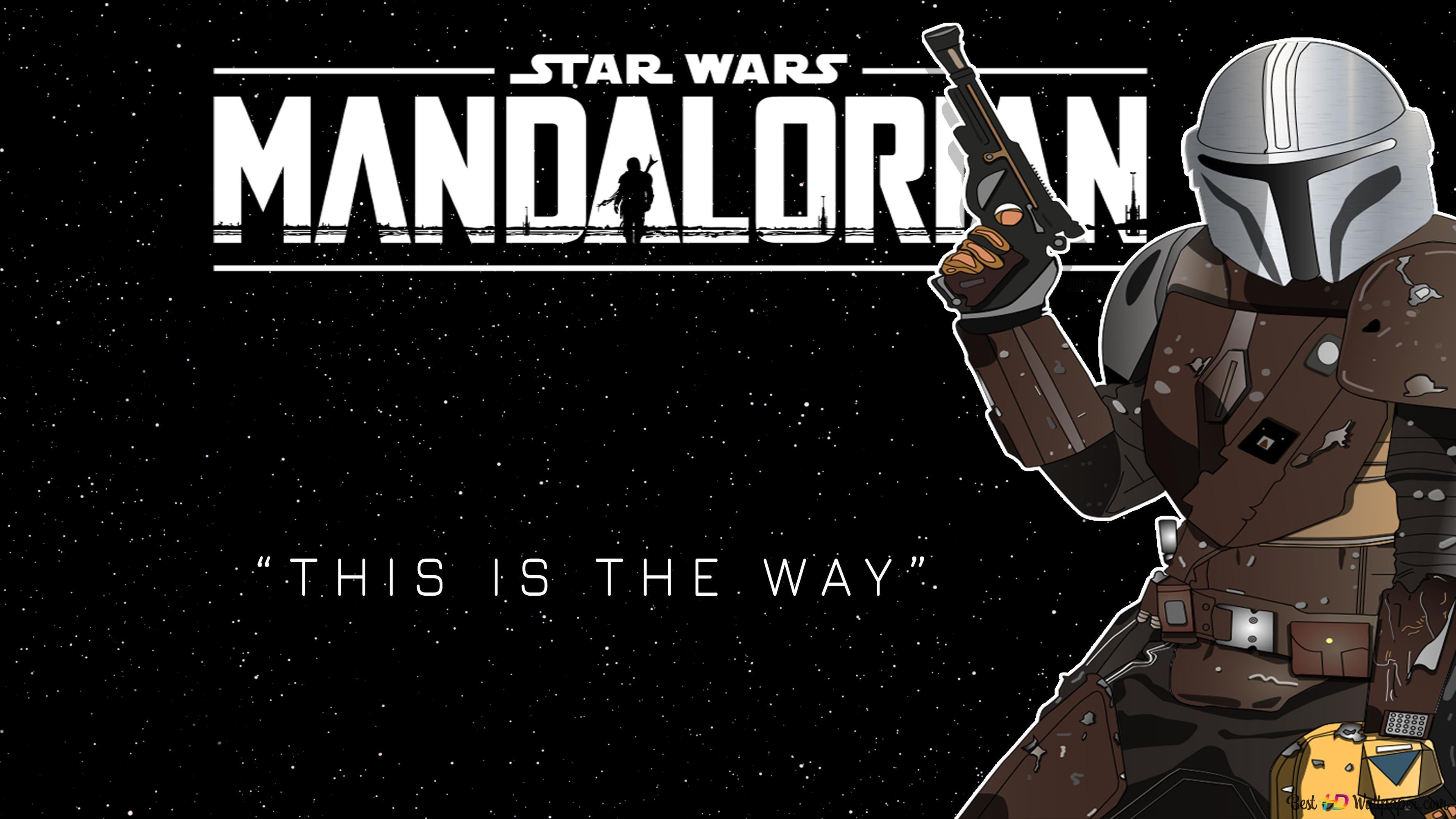 Star Wars The Mandalorian Unduhan Wallpaper Hd