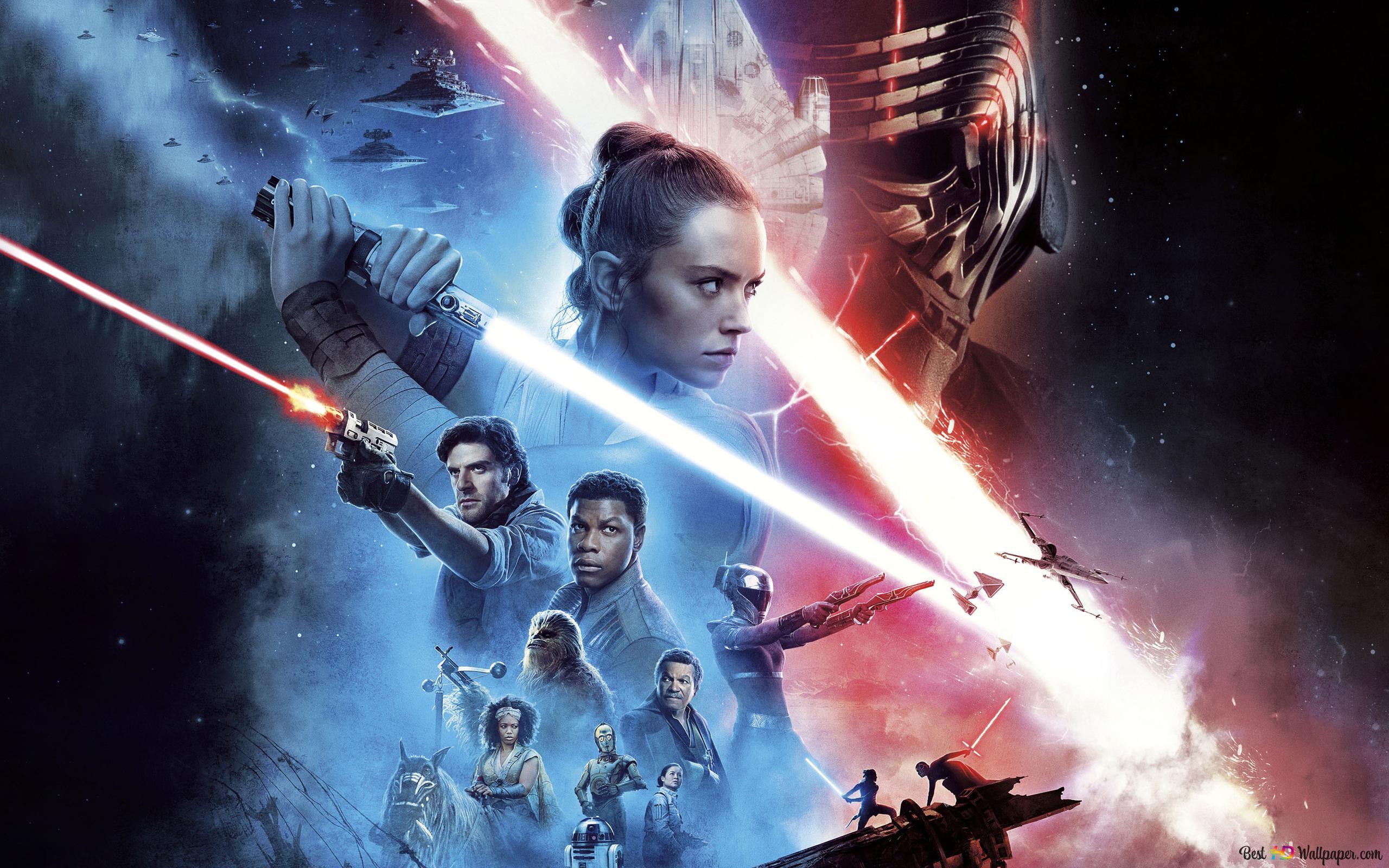 Star Wars The Rise Of Skywalker Poster Hd Wallpaper Download