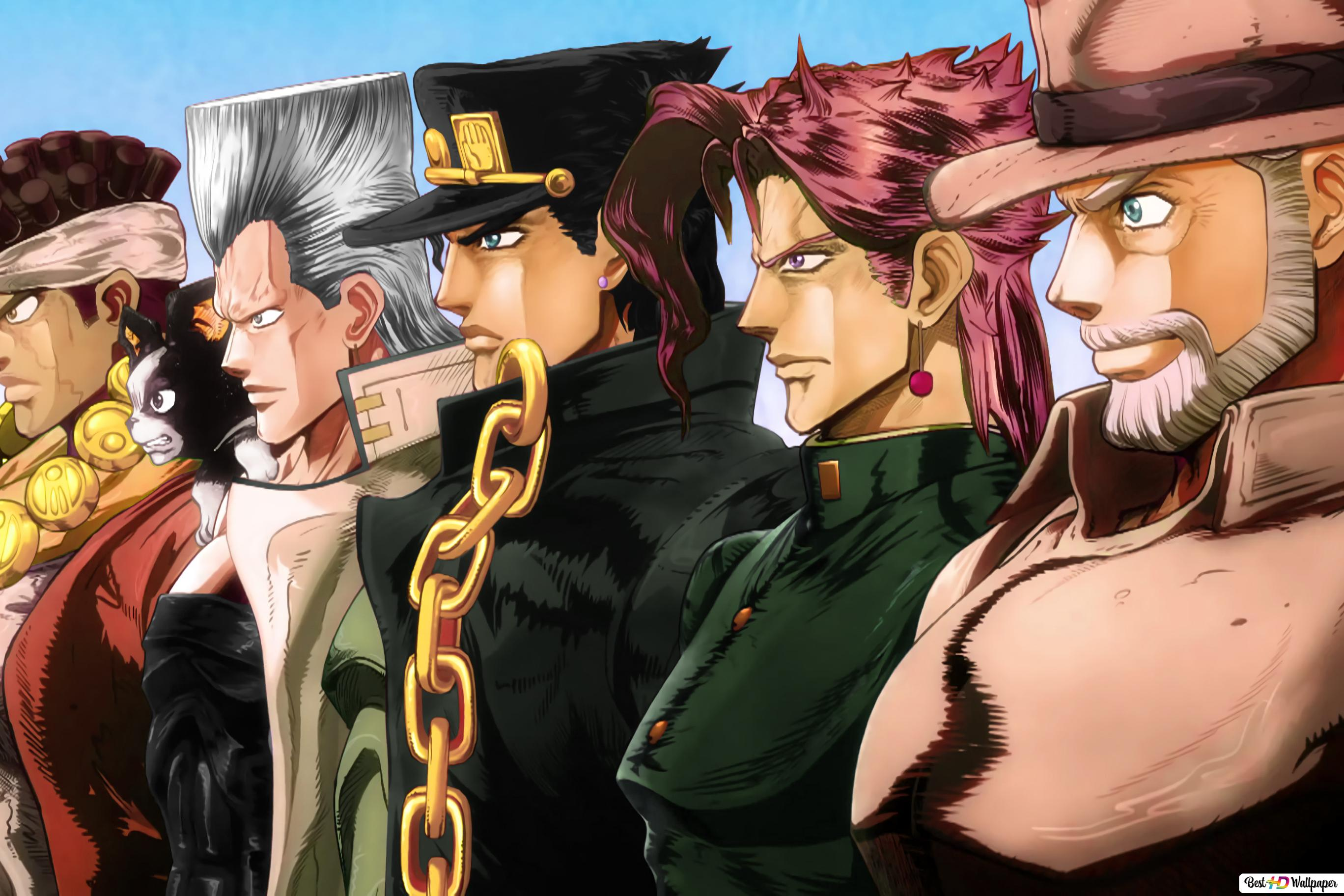 Jjba Wallpaper Gambarku
