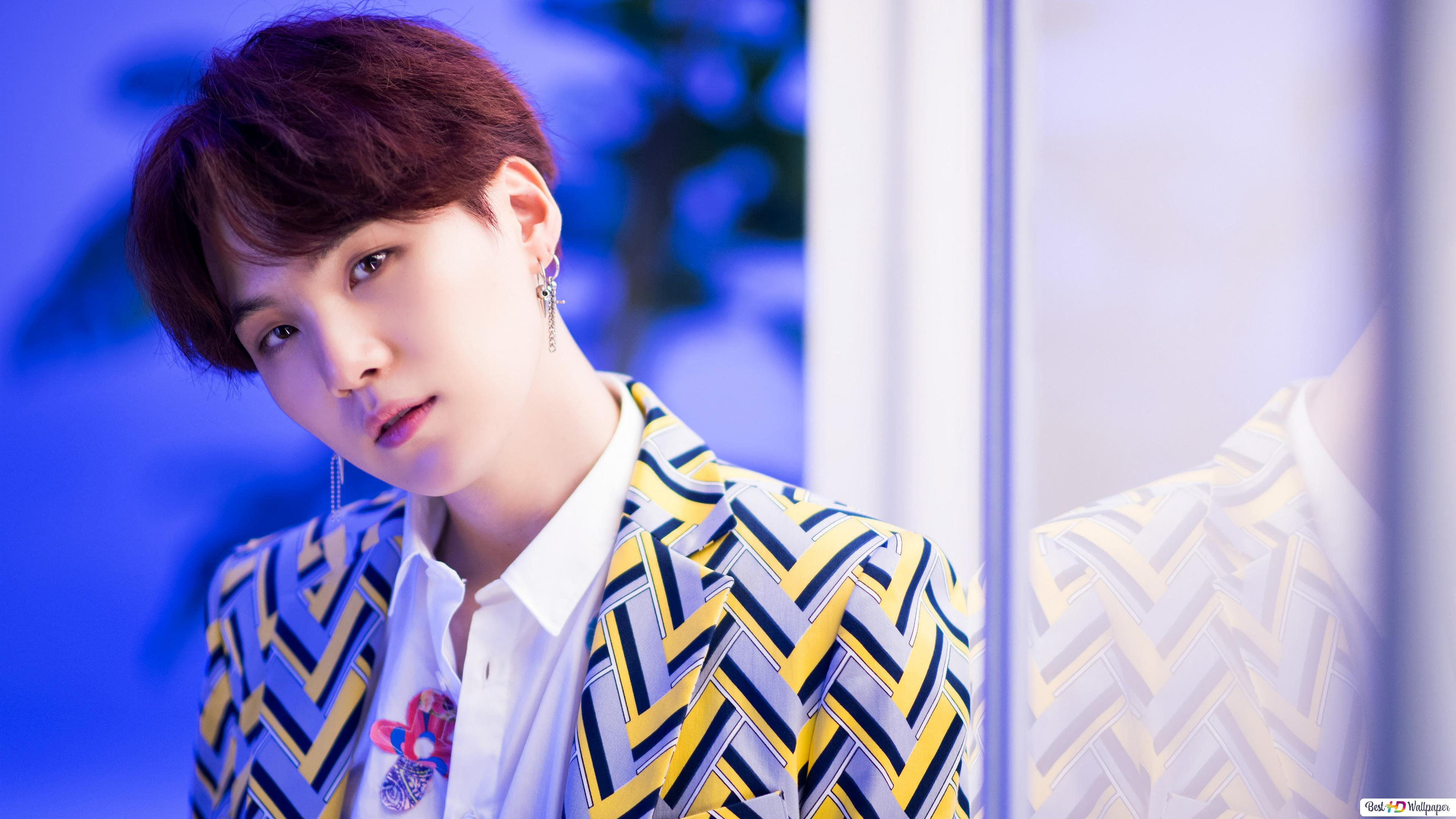 suga from bts k pop boys band wallpaper 3840x2160 53617 54