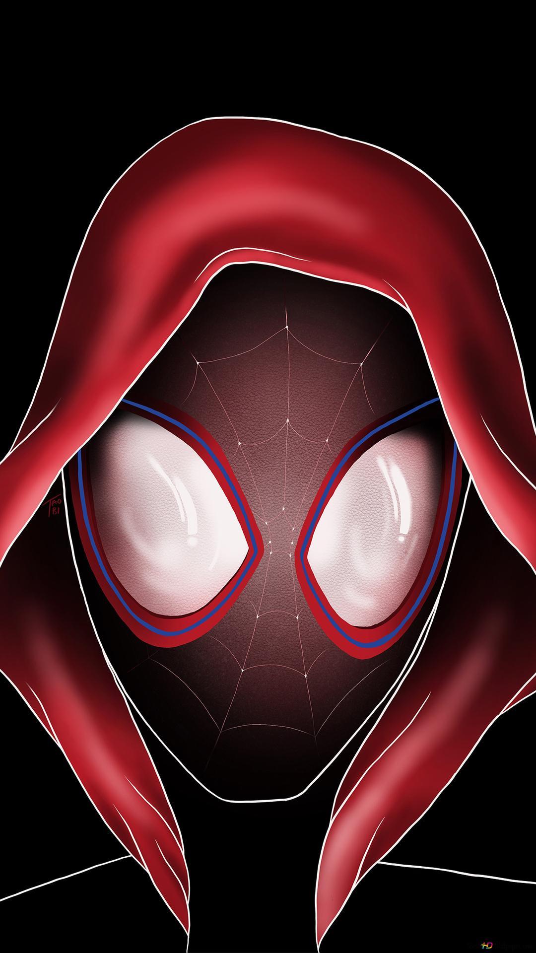 スパイダーマン スパイダー 詩の映画化 マイルモラレスアート Hd