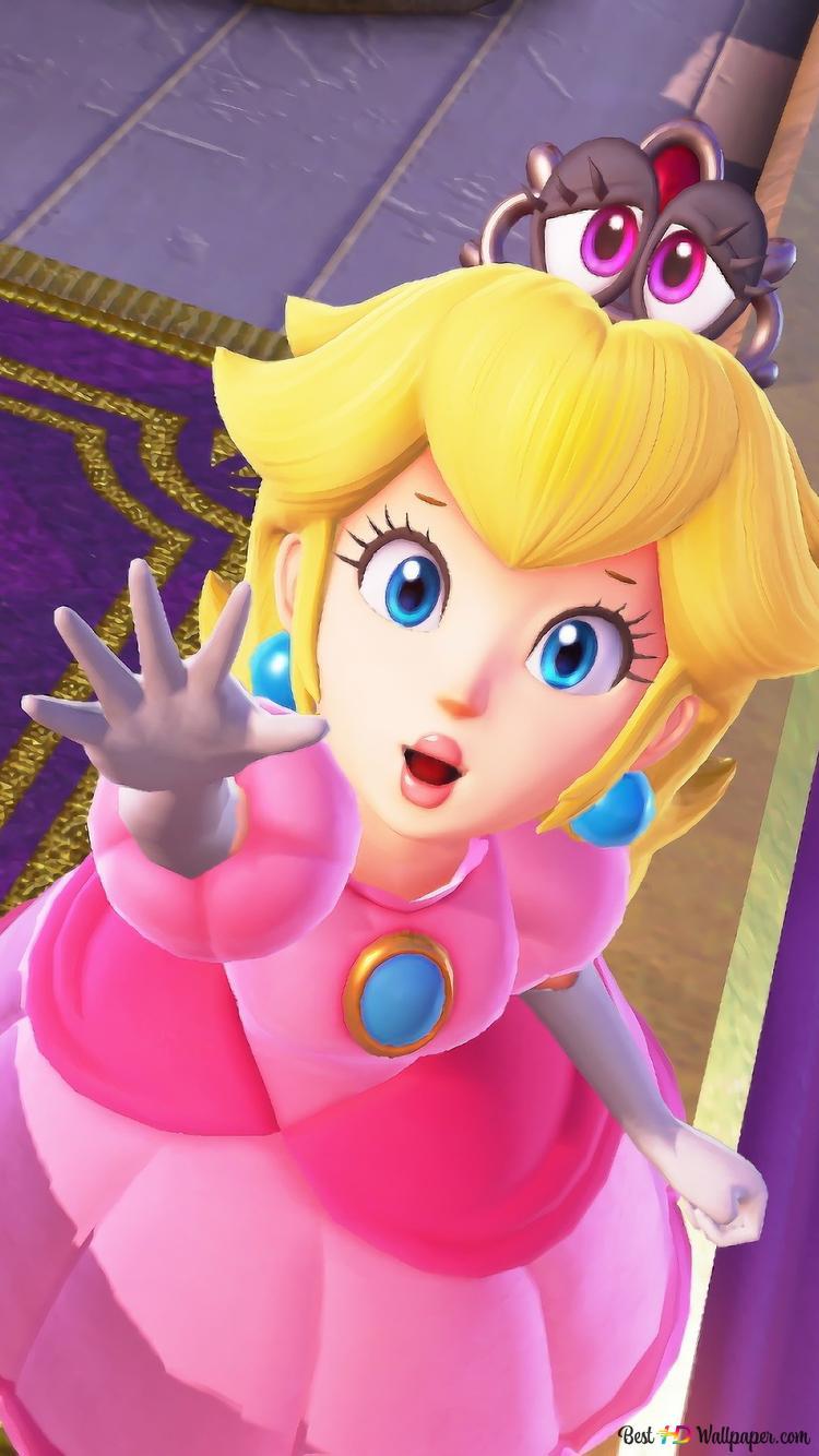 Super Mario Odyssey Princess Peach Hd Wallpaper Download