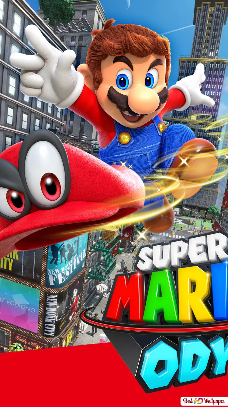 Super Mario Odyssey Video Game Hd Wallpaper Download