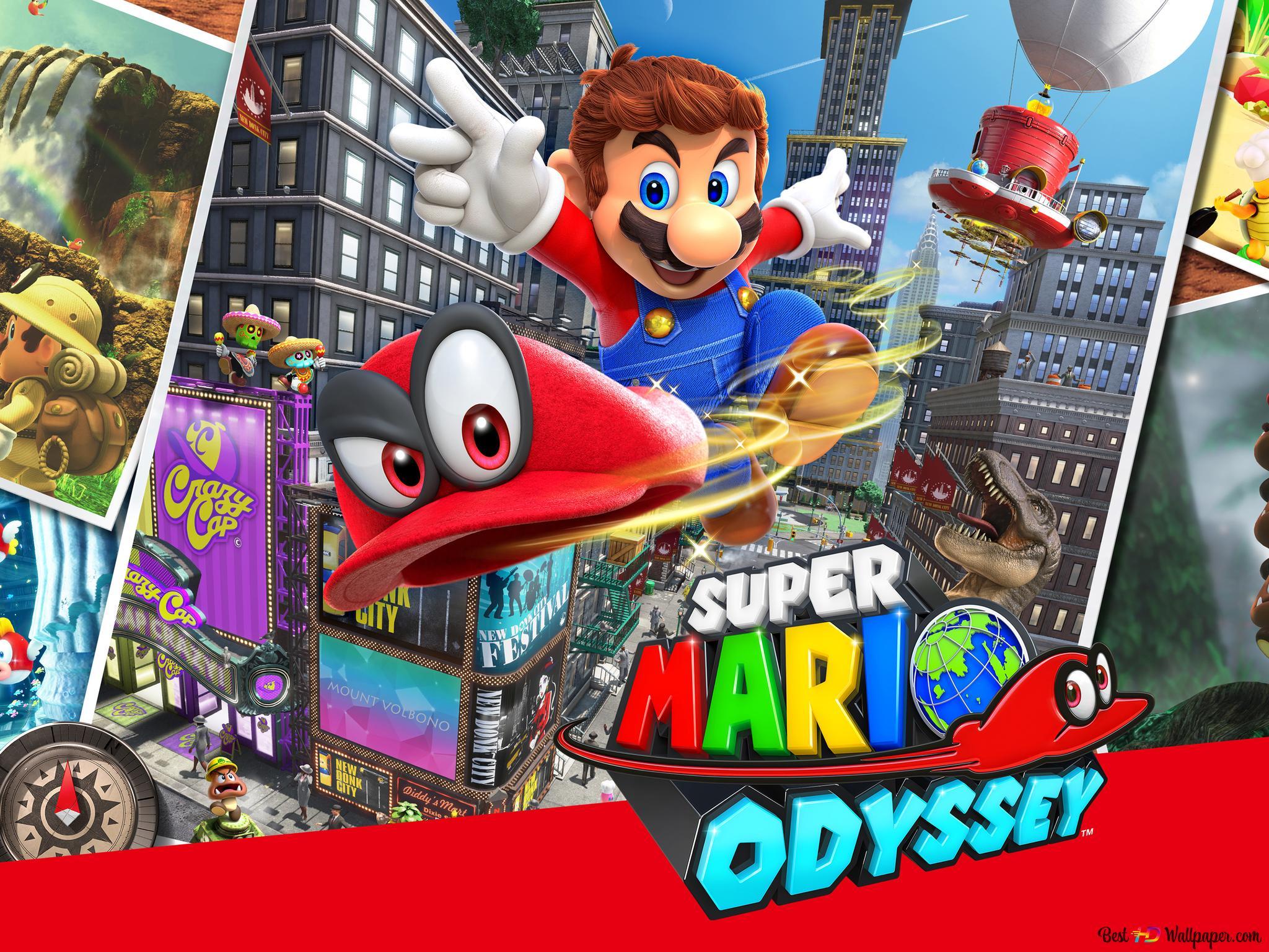 Super Mario Odyssey - Videospiel HD Hintergrundbilder ...