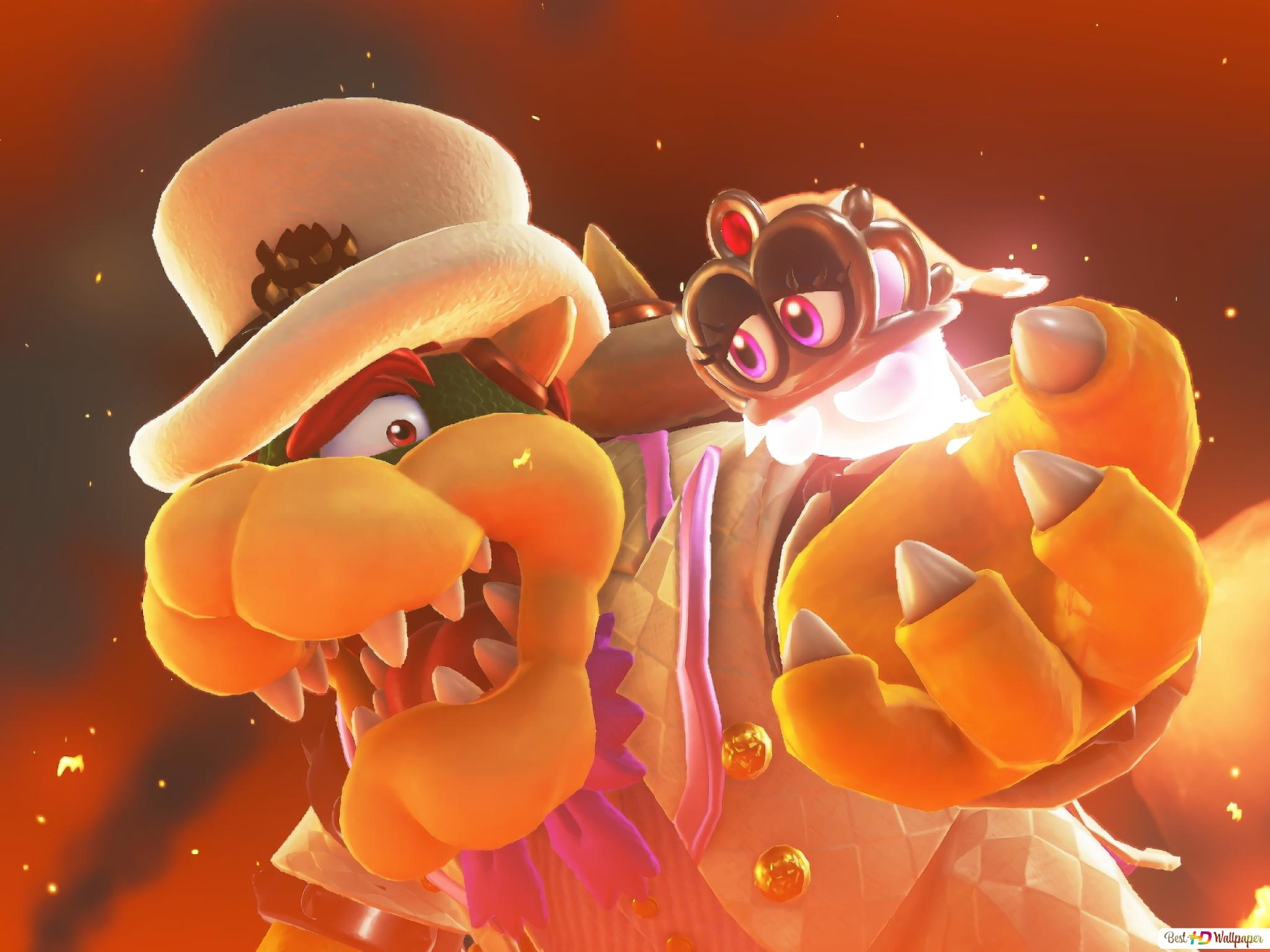 Super Mario Odyssey Hd Wallpaper Download