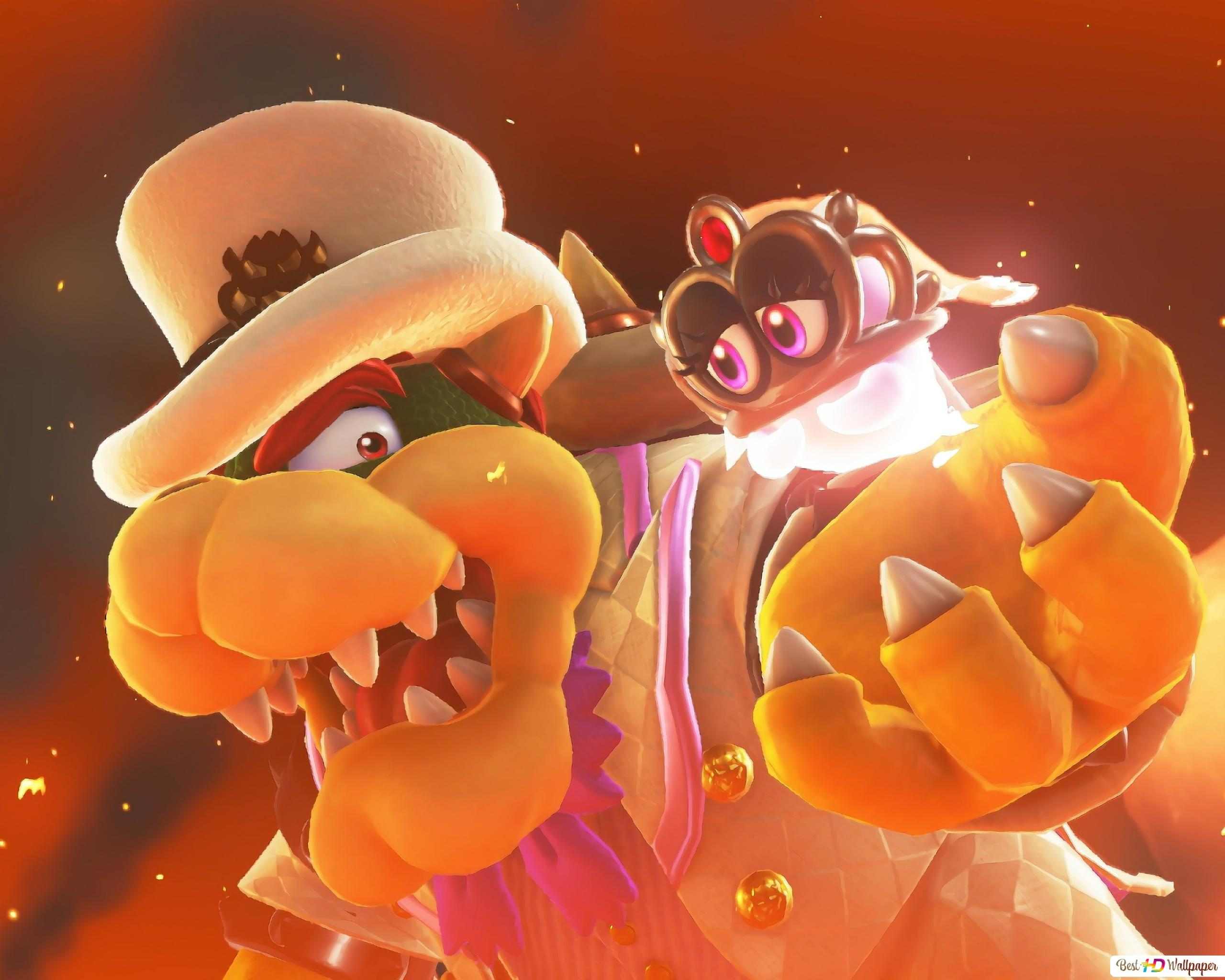 Super Mario Odyssey Hd Wallpaper Download