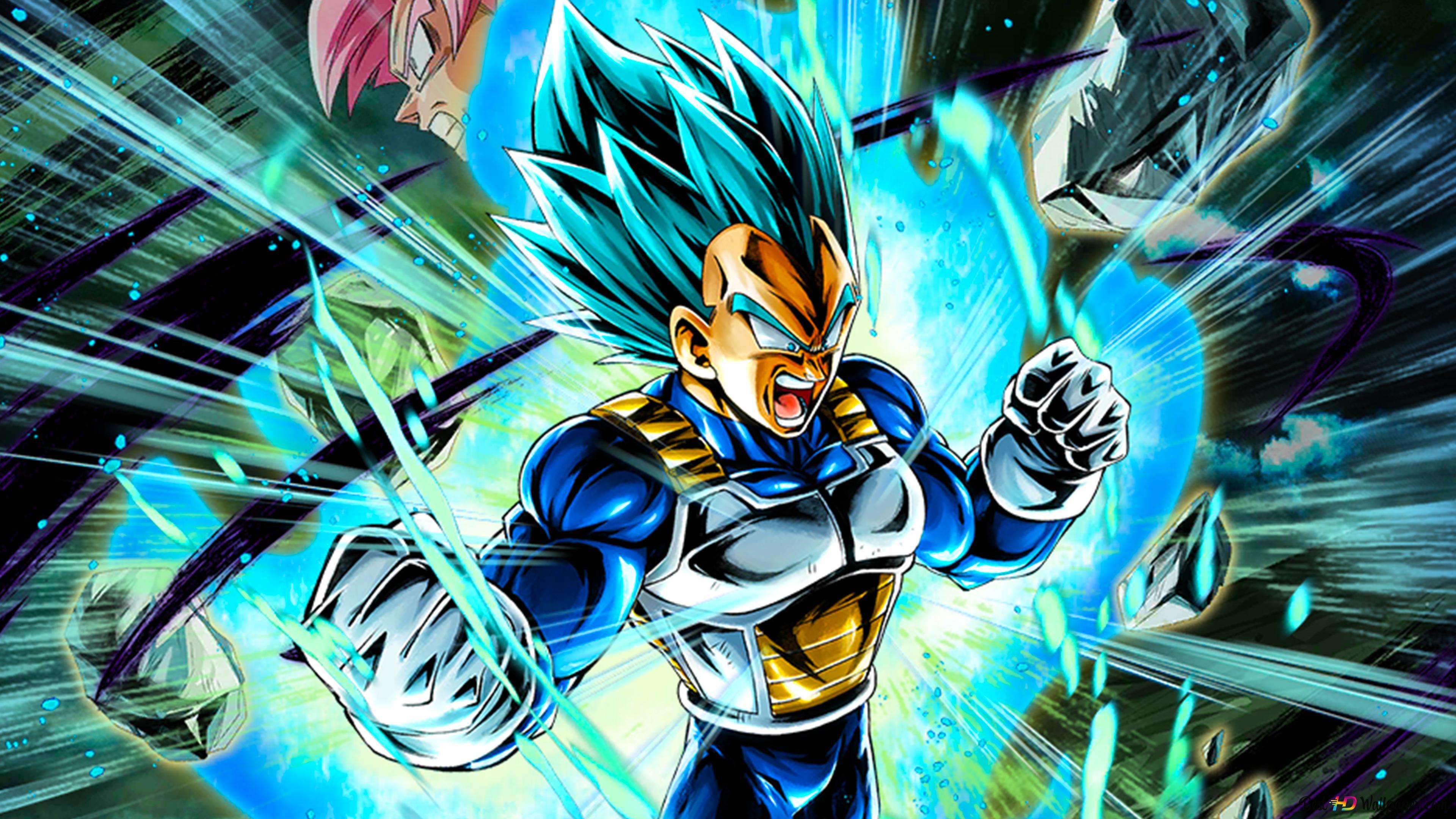 Super Saiyan Blue Vegeta Dari Dragon Ball Super Dragon Ball Legends Arts Untuk Desktop Unduhan Wallpaper Hd