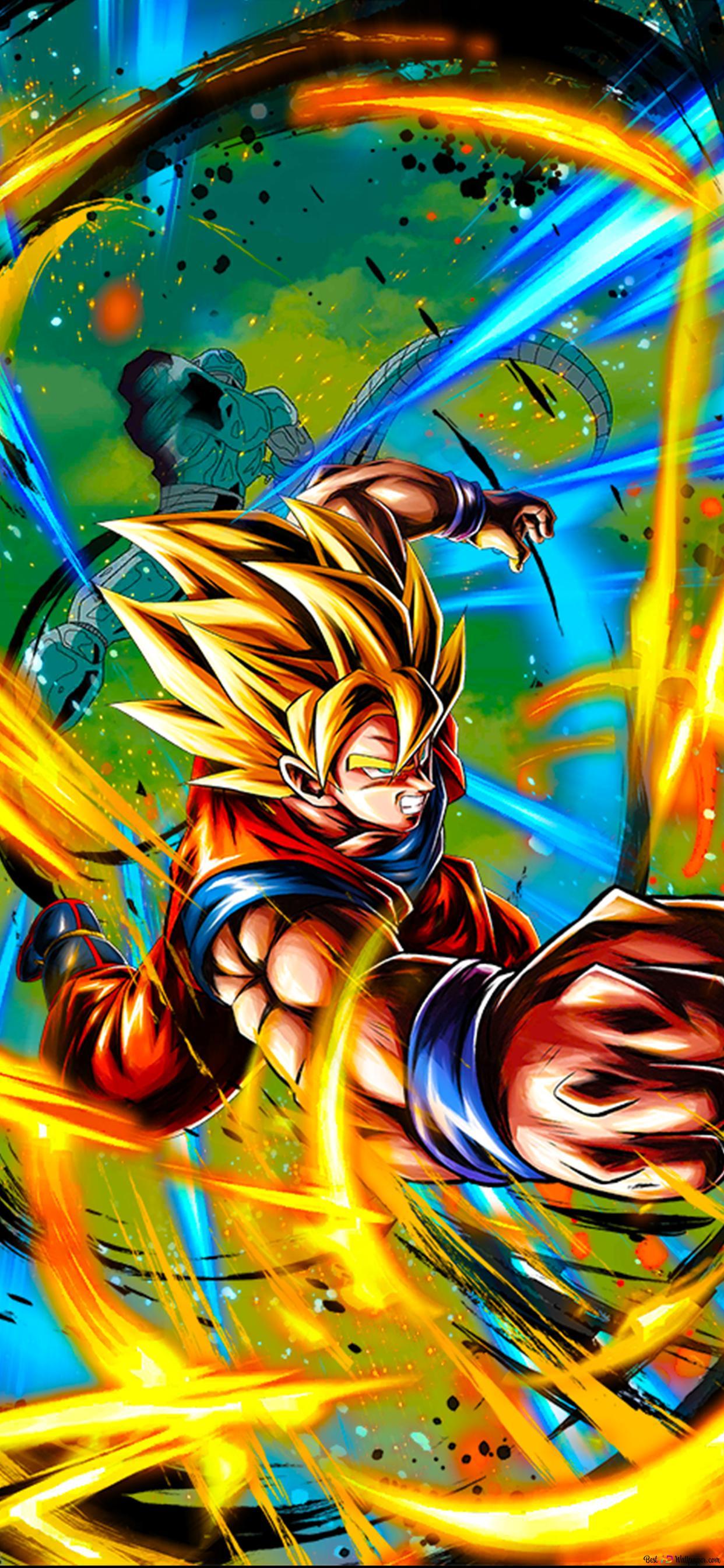 Super Saiyan Goku Dragon Ball Z Movie 7 The Return Of Cooler Android Hd Wallpaper Download