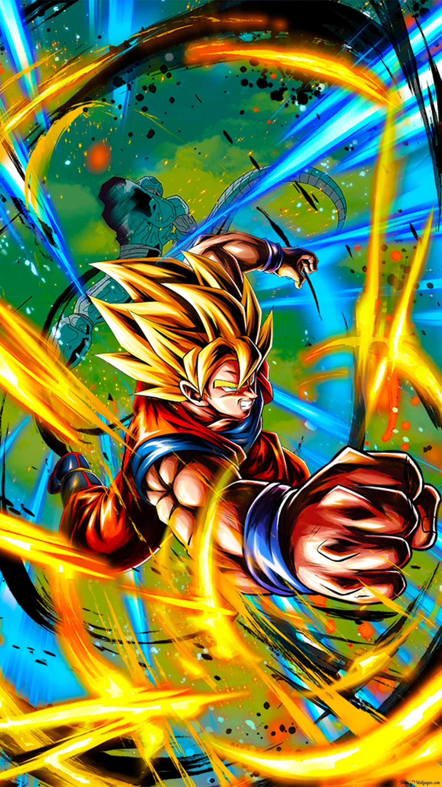 Super Saiyan Goku Film Dragon Ball Z 7 Kembalinya Cooler Android Unduhan Wallpaper Hd