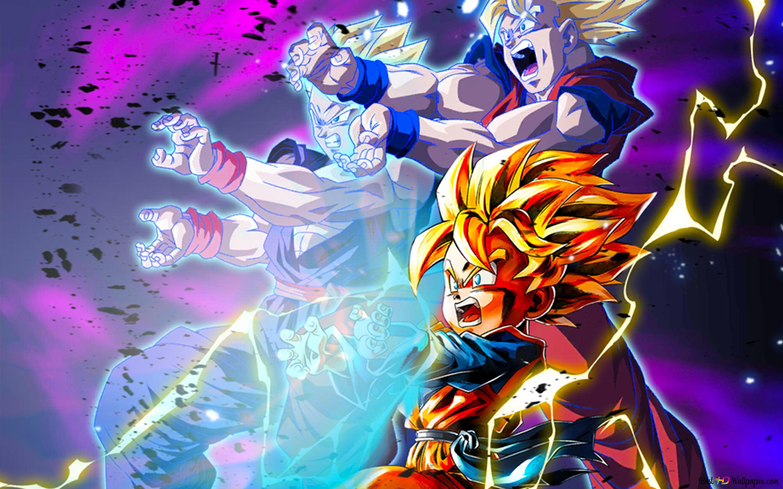 Super Saiyan Goten Dari Dragon Ball Z Dragon Ball Legends Arts Untuk Desktop Unduhan Wallpaper Hd