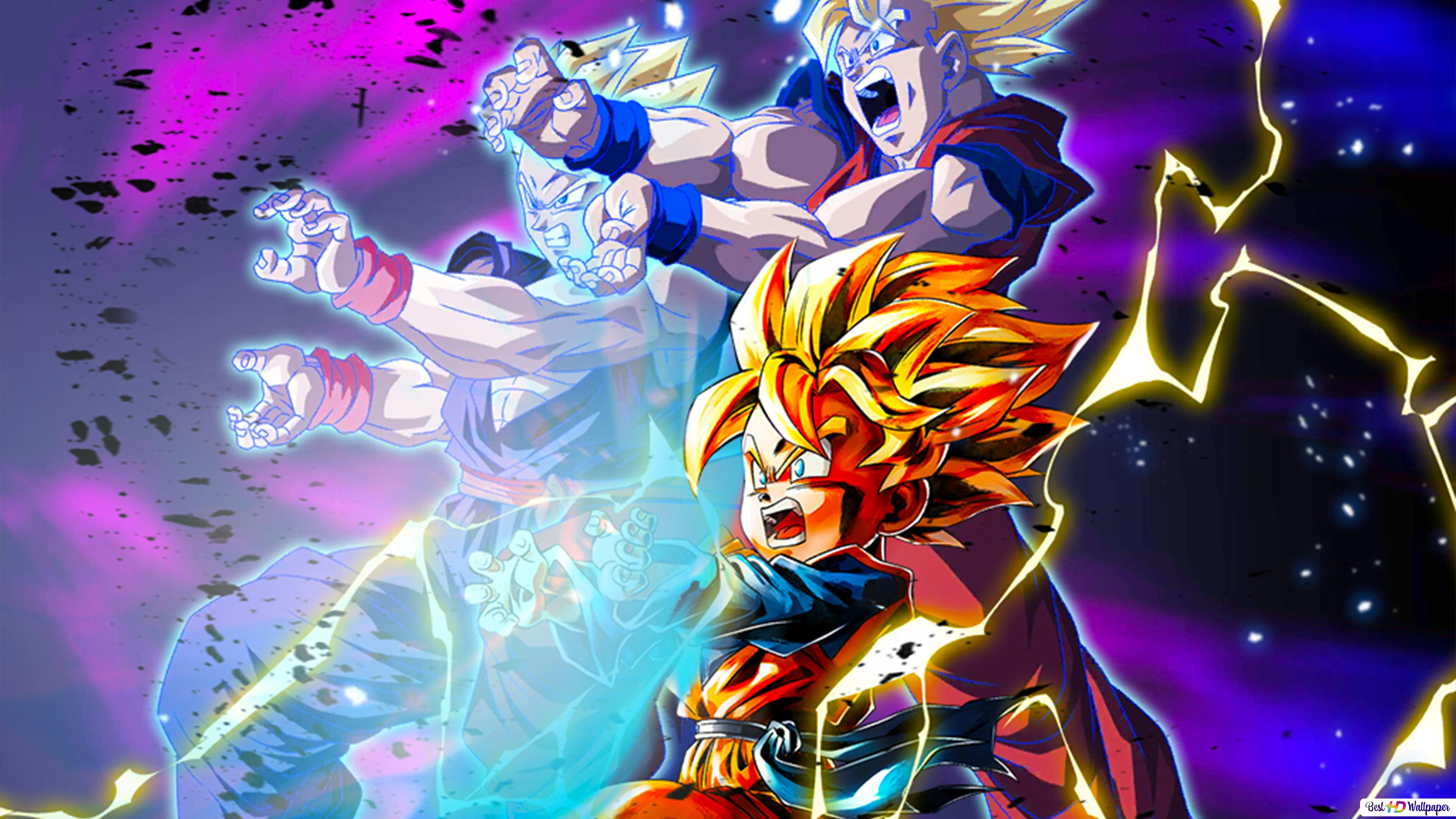 Super Saiyan Goten From Dragon Ball Z Dragon Ball Legends Arts For Desktop Hd Wallpaper Download